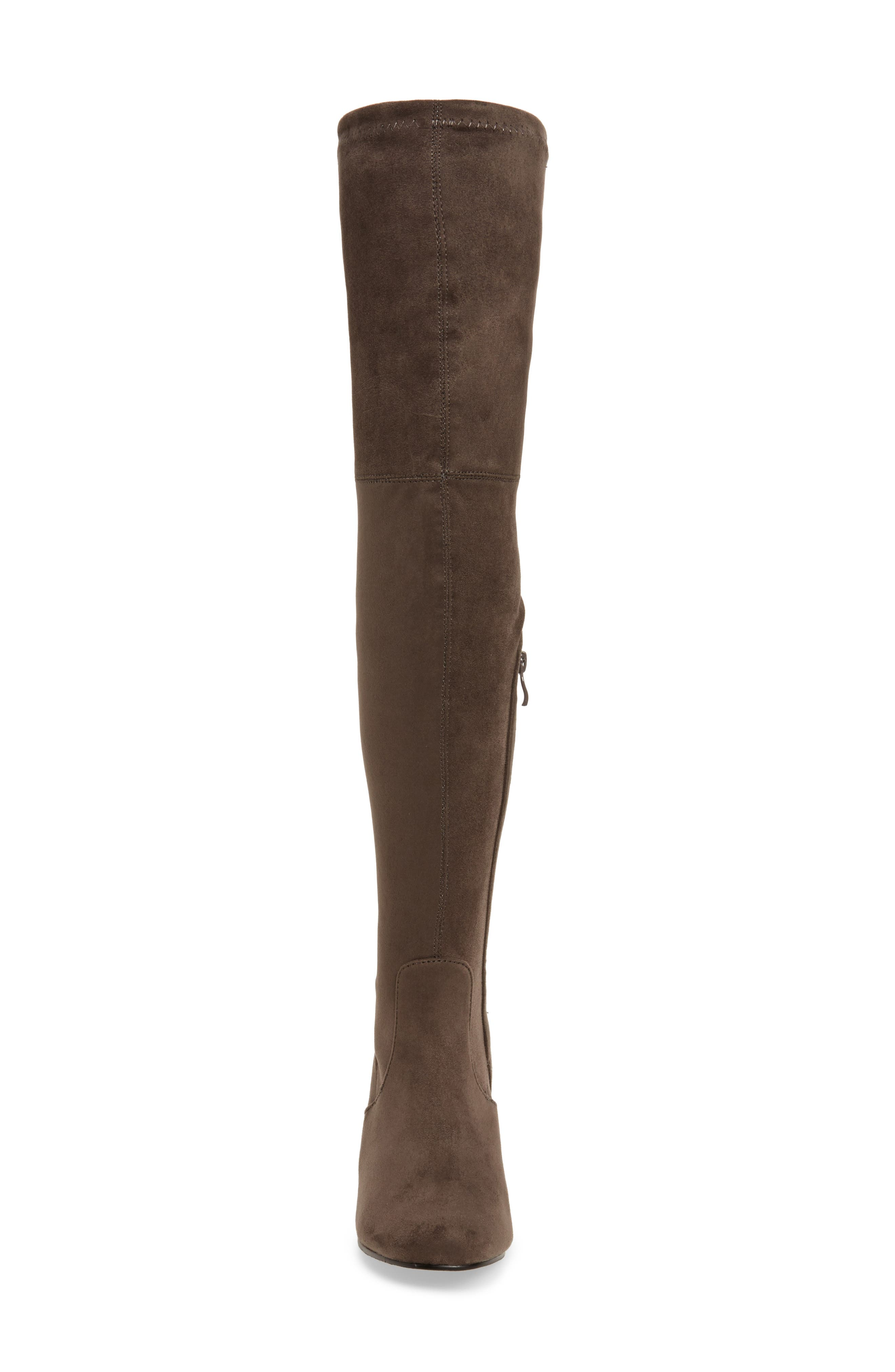Heartbeat Over the Knee Boot,                             Alternate thumbnail 8, color,