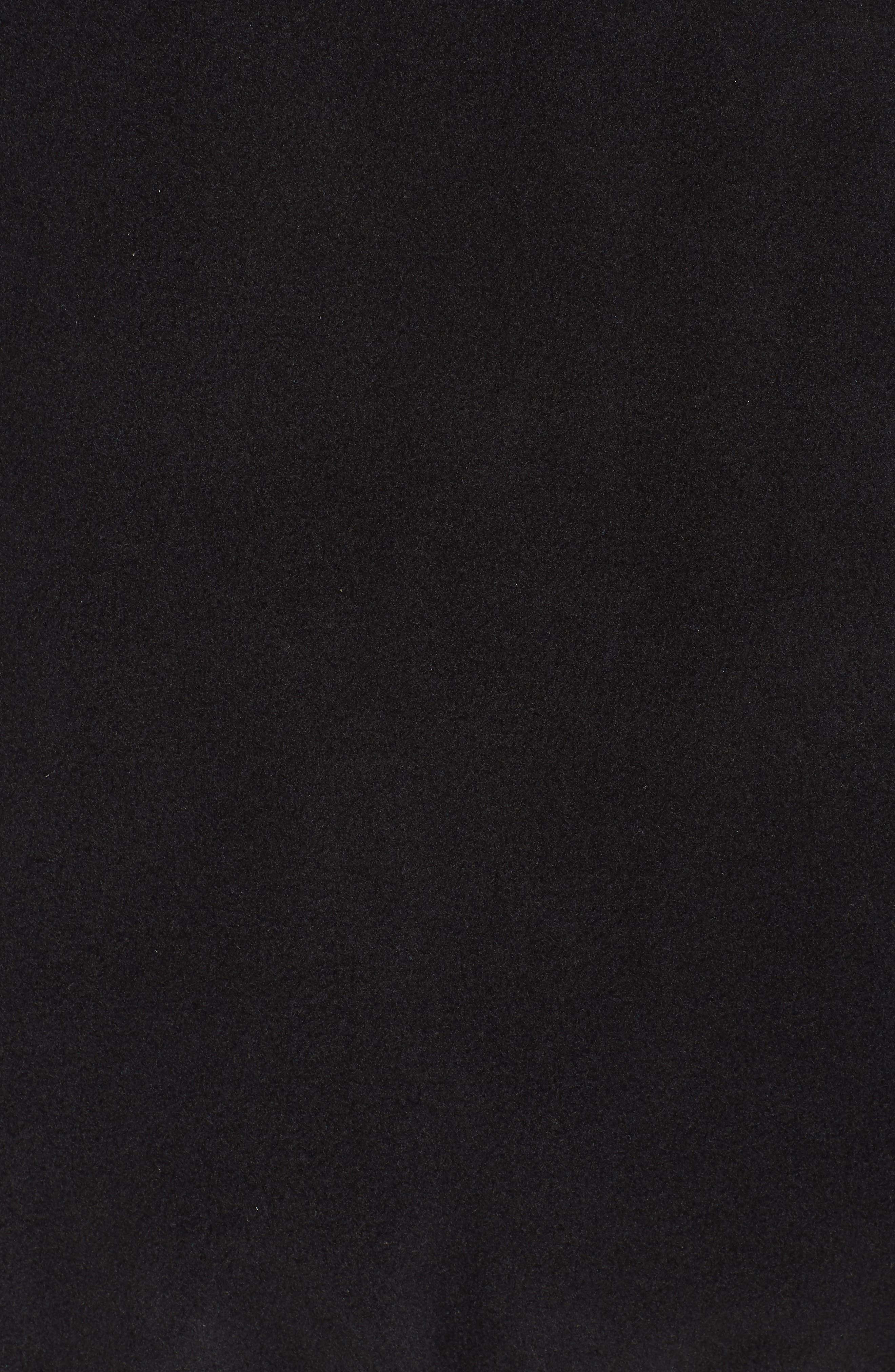 Synchilla Snap-T<sup>®</sup> Fleece Pullover,                             Alternate thumbnail 7, color,                             BLACK W/ BLACK