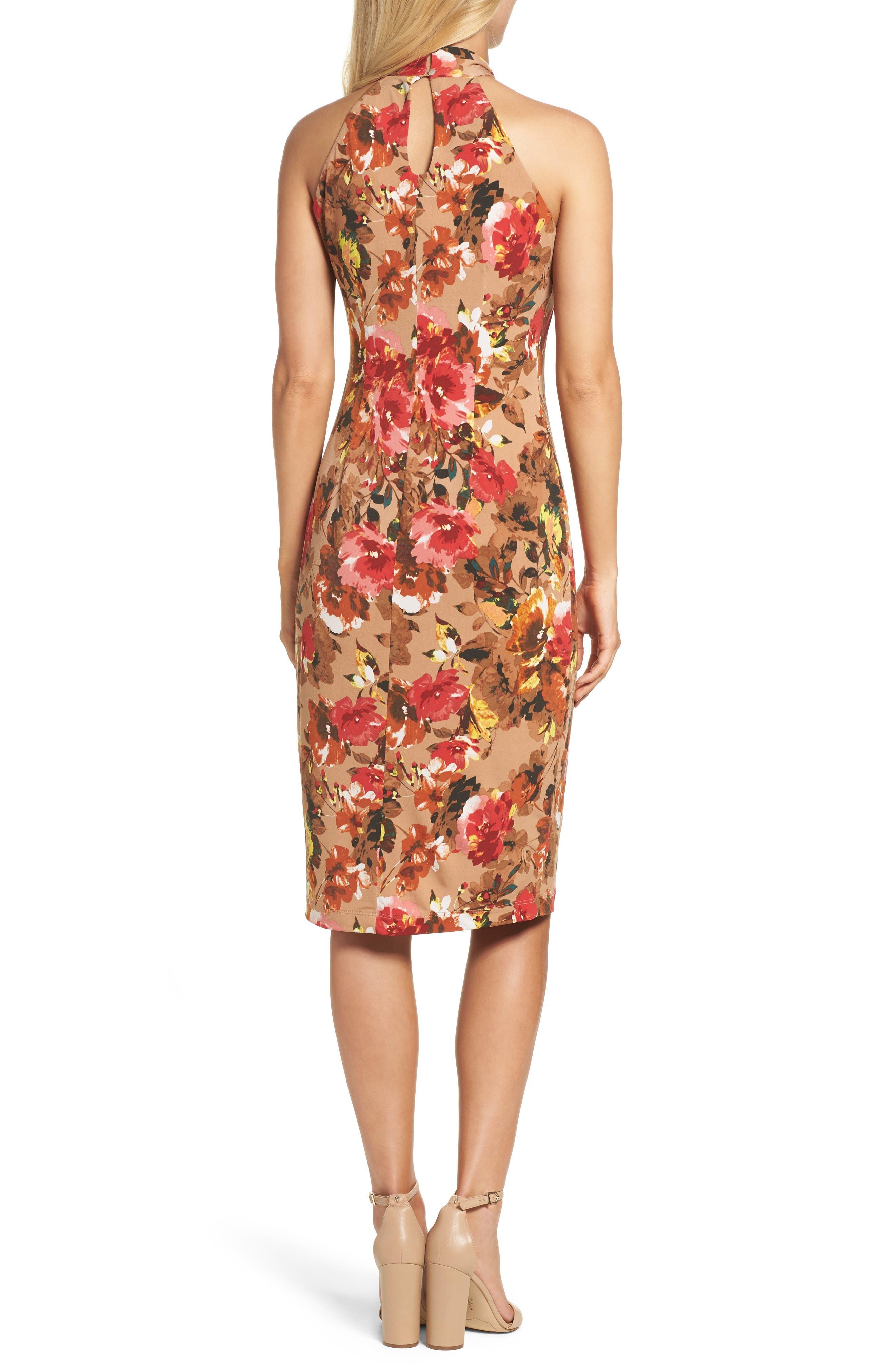 Jersey Midi Dress,                             Alternate thumbnail 2, color,