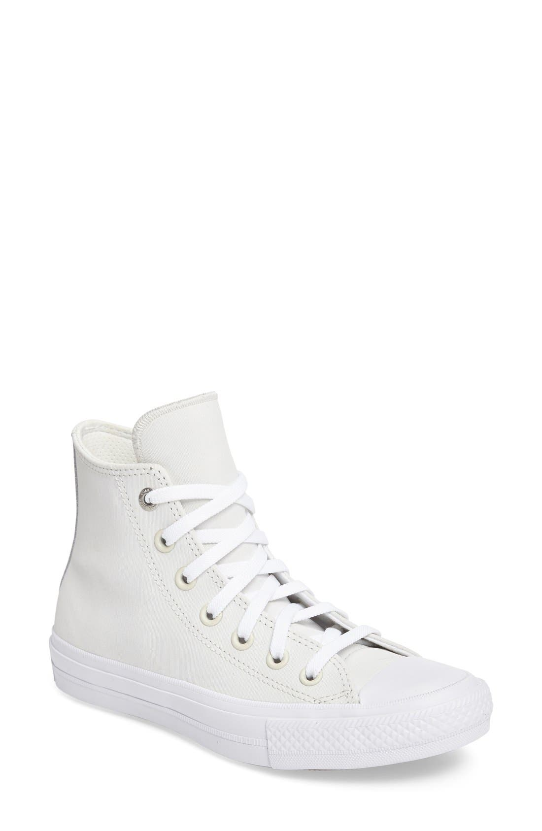 Chuck Taylor<sup>®</sup> All Star<sup>®</sup> II Two Tone High Top Sneaker,                             Main thumbnail 1, color,                             100