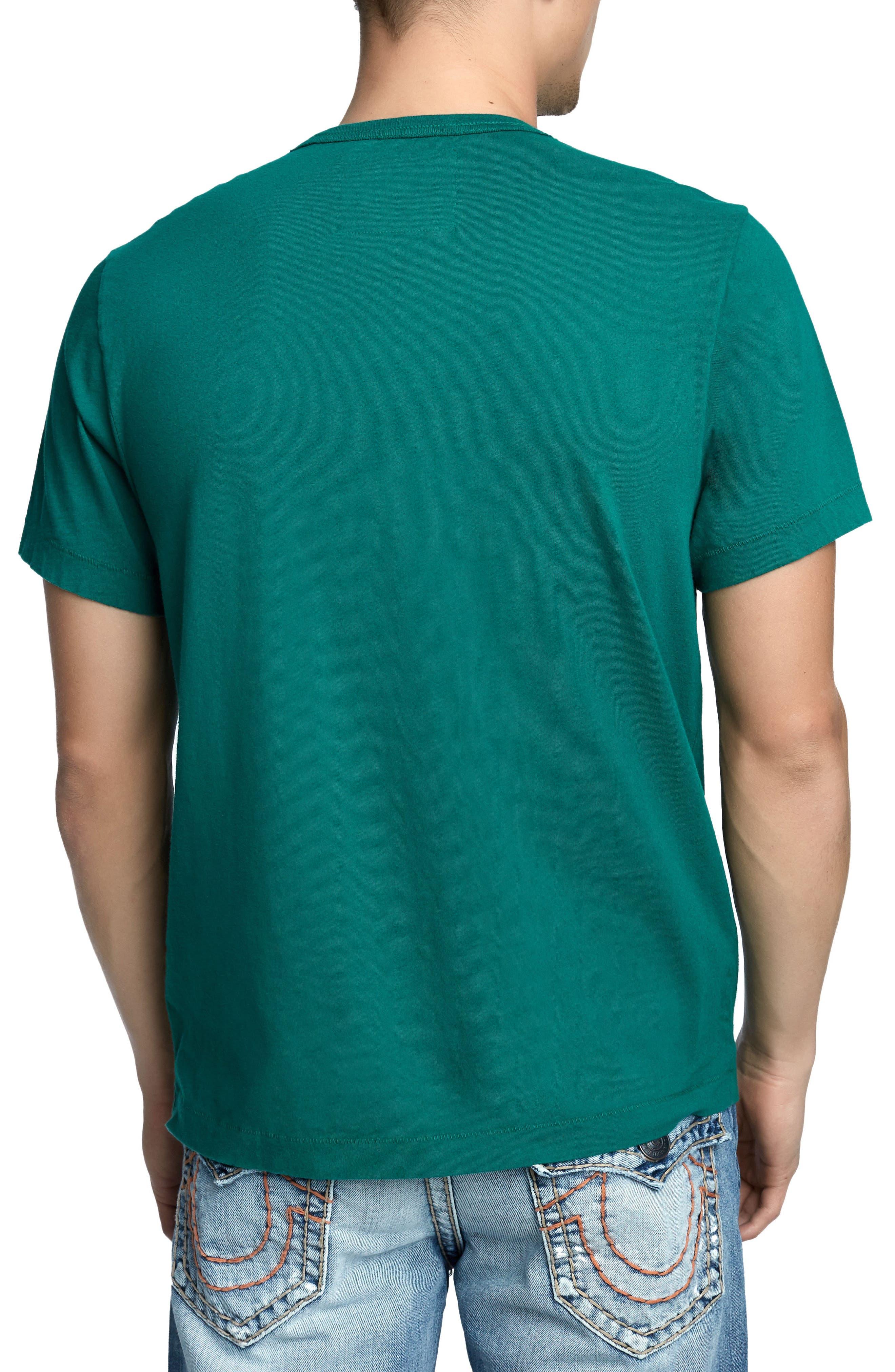 True Slogan T-Shirt,                             Alternate thumbnail 2, color,                             DARK AGAVE