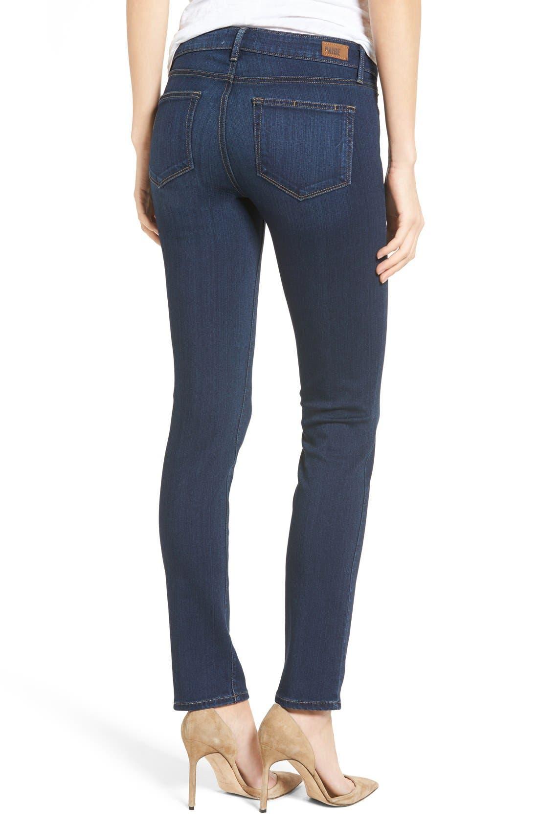 Transcend Skyline Skinny Jeans,                             Alternate thumbnail 4, color,                             400