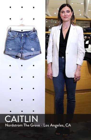 501<sup>®</sup> Long Denim Shorts, sales video thumbnail