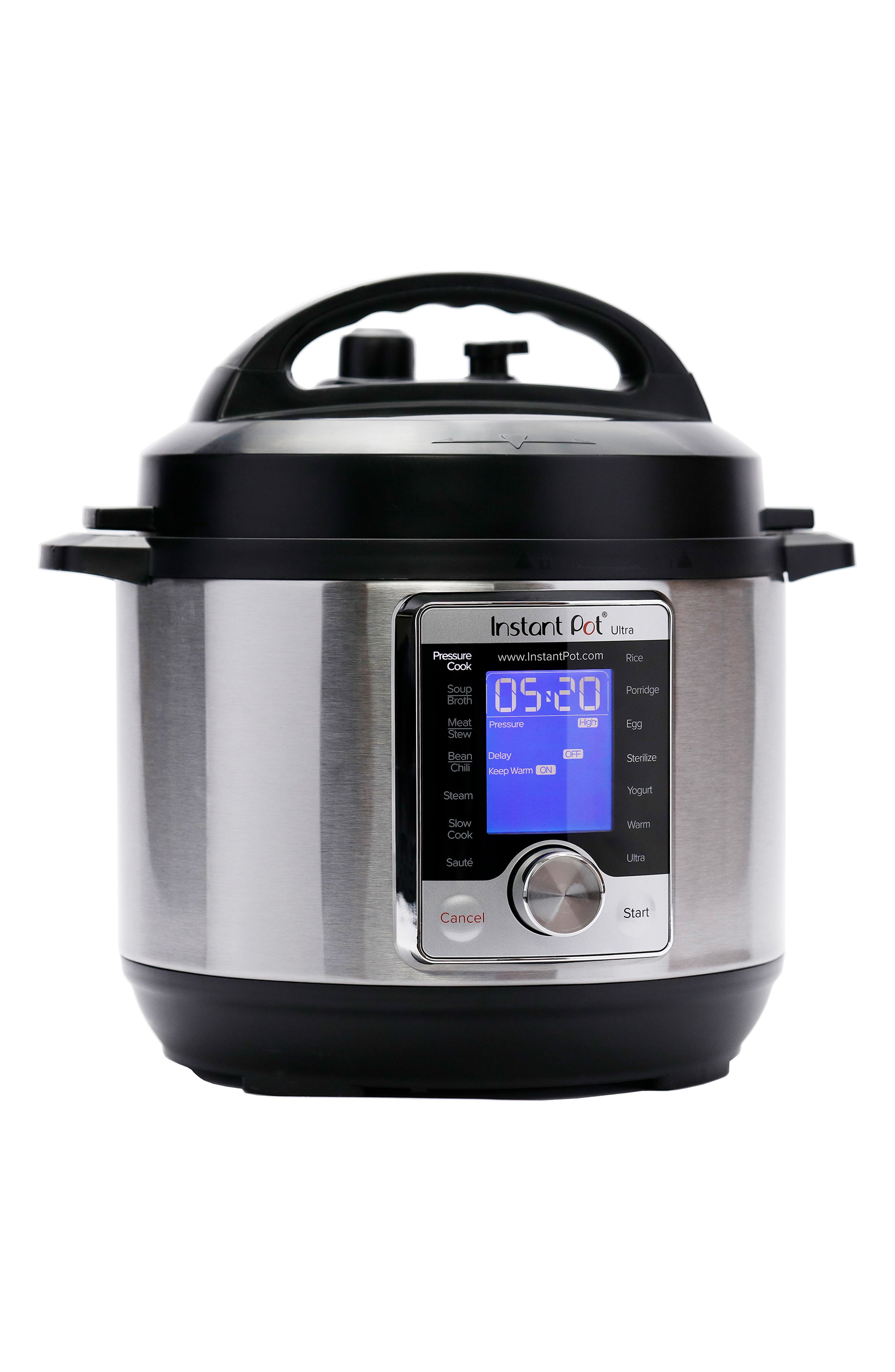 Ultra 8-Quart 10-in-1 Multiuse Programmable Cooker,                             Alternate thumbnail 5, color,                             SILVER