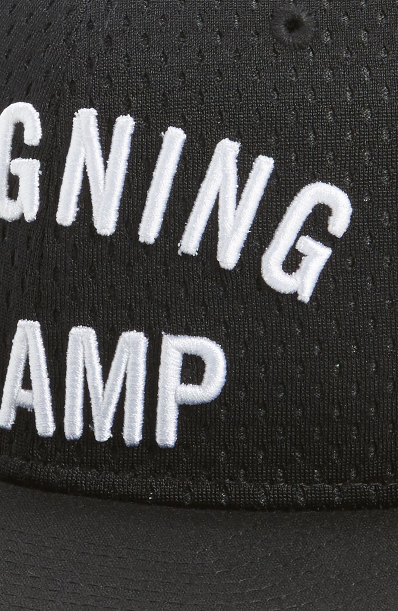 Snapback Baseball Cap,                             Alternate thumbnail 3, color,                             001