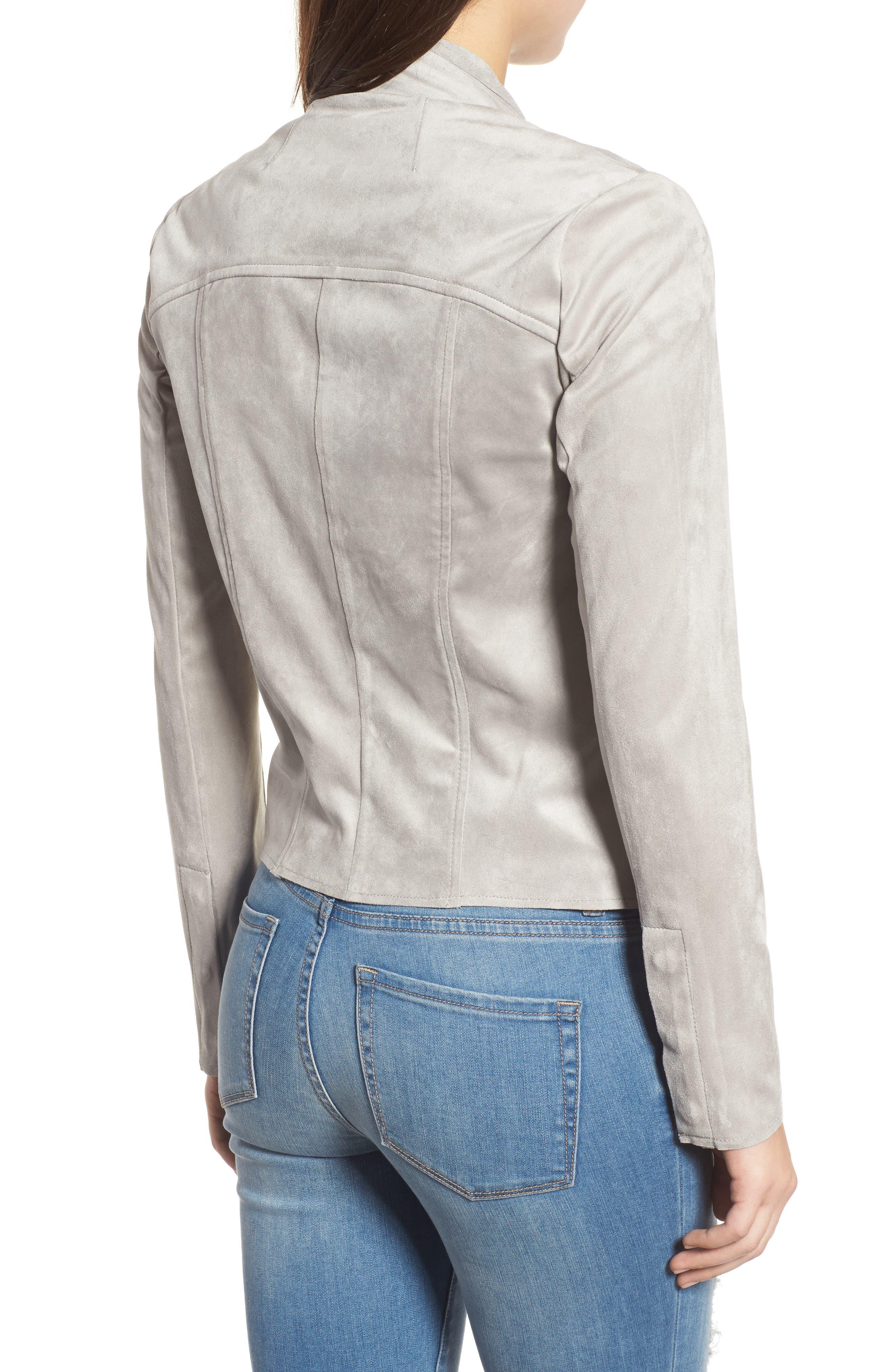 Tayanita Faux Suede Jacket,                             Alternate thumbnail 15, color,