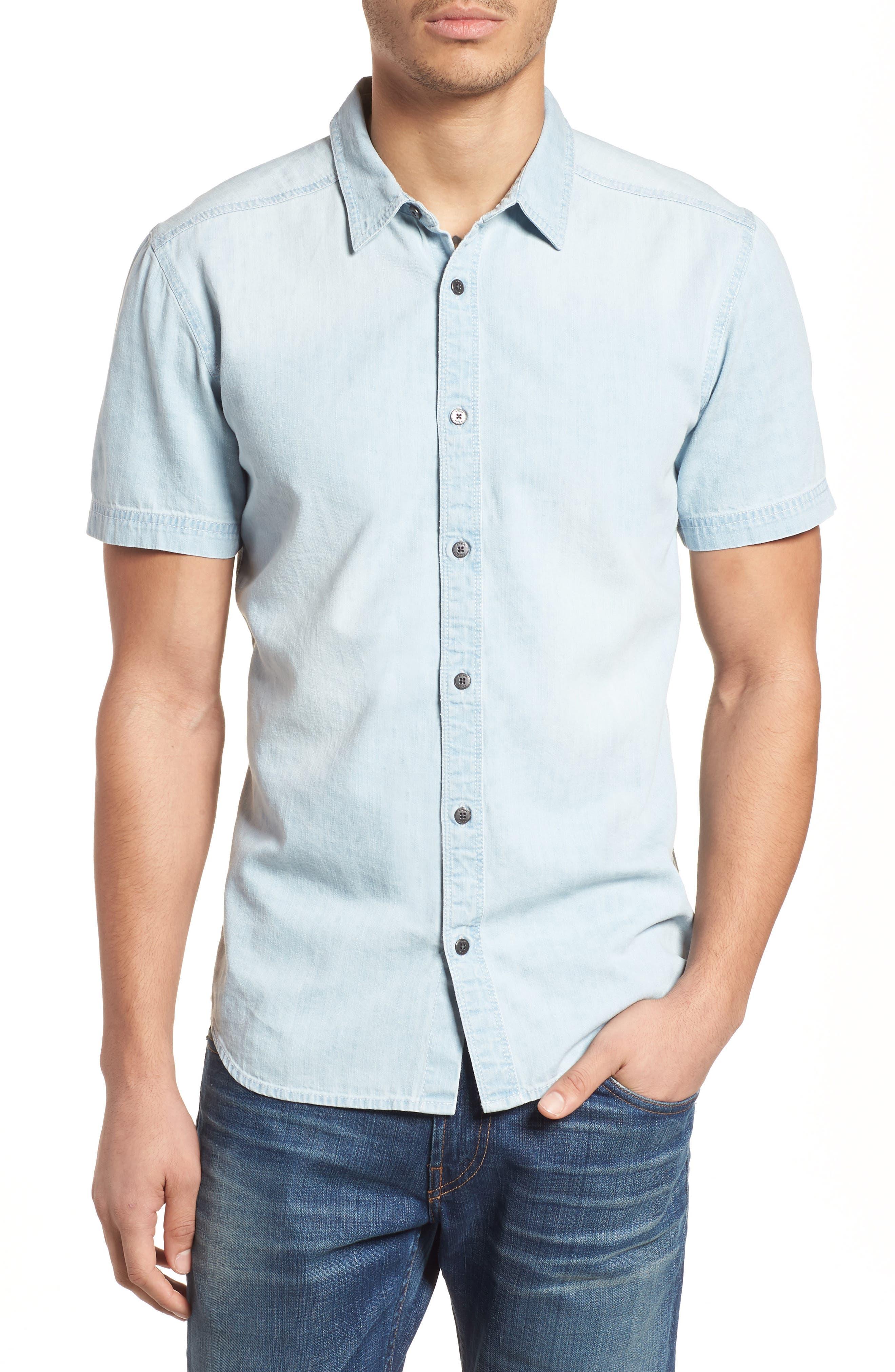 Sabotage Woven Shirt,                             Main thumbnail 1, color,                             020