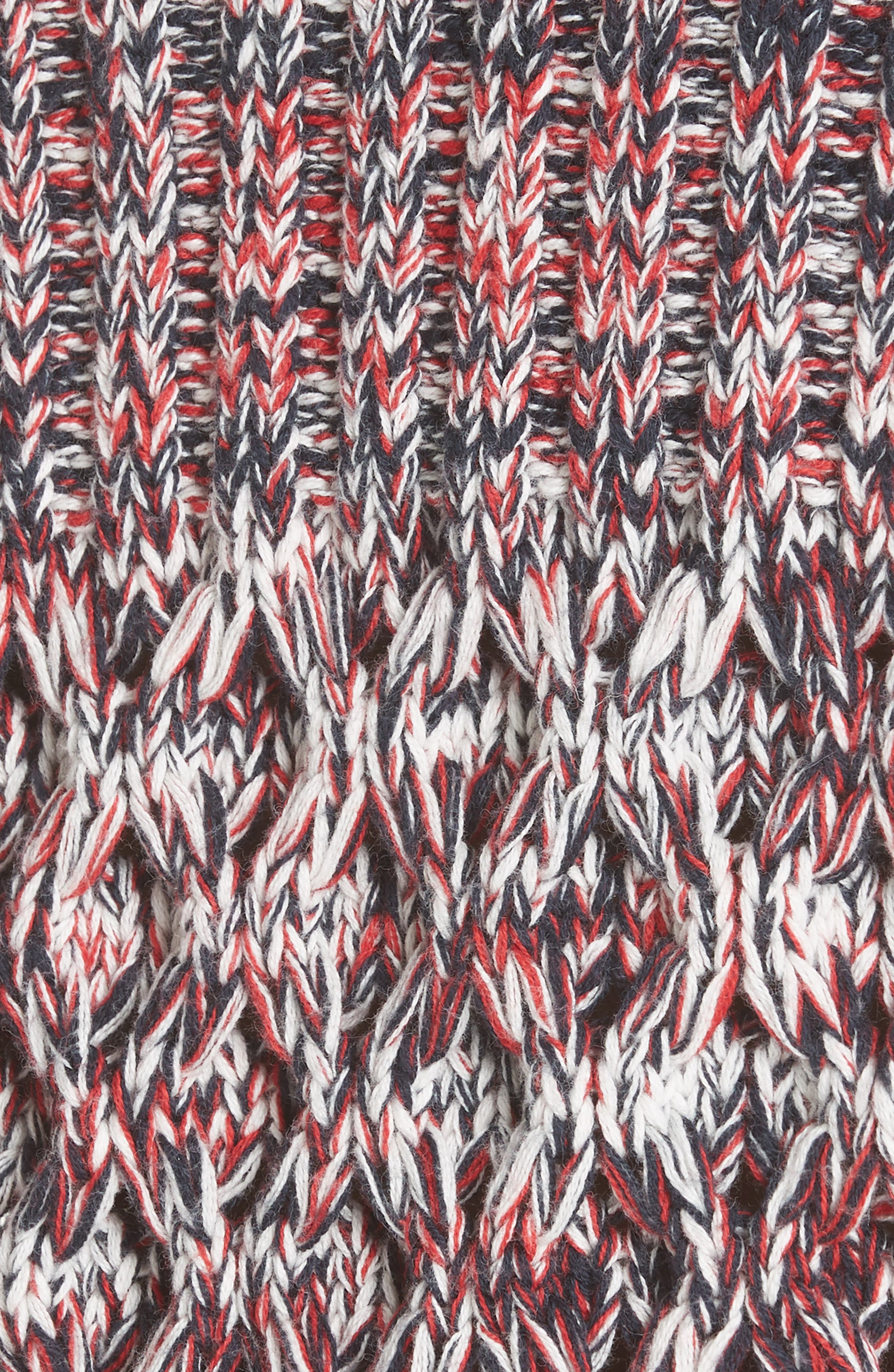 Mélange Cotton & Wool Sweater,                             Alternate thumbnail 5, color,                             600