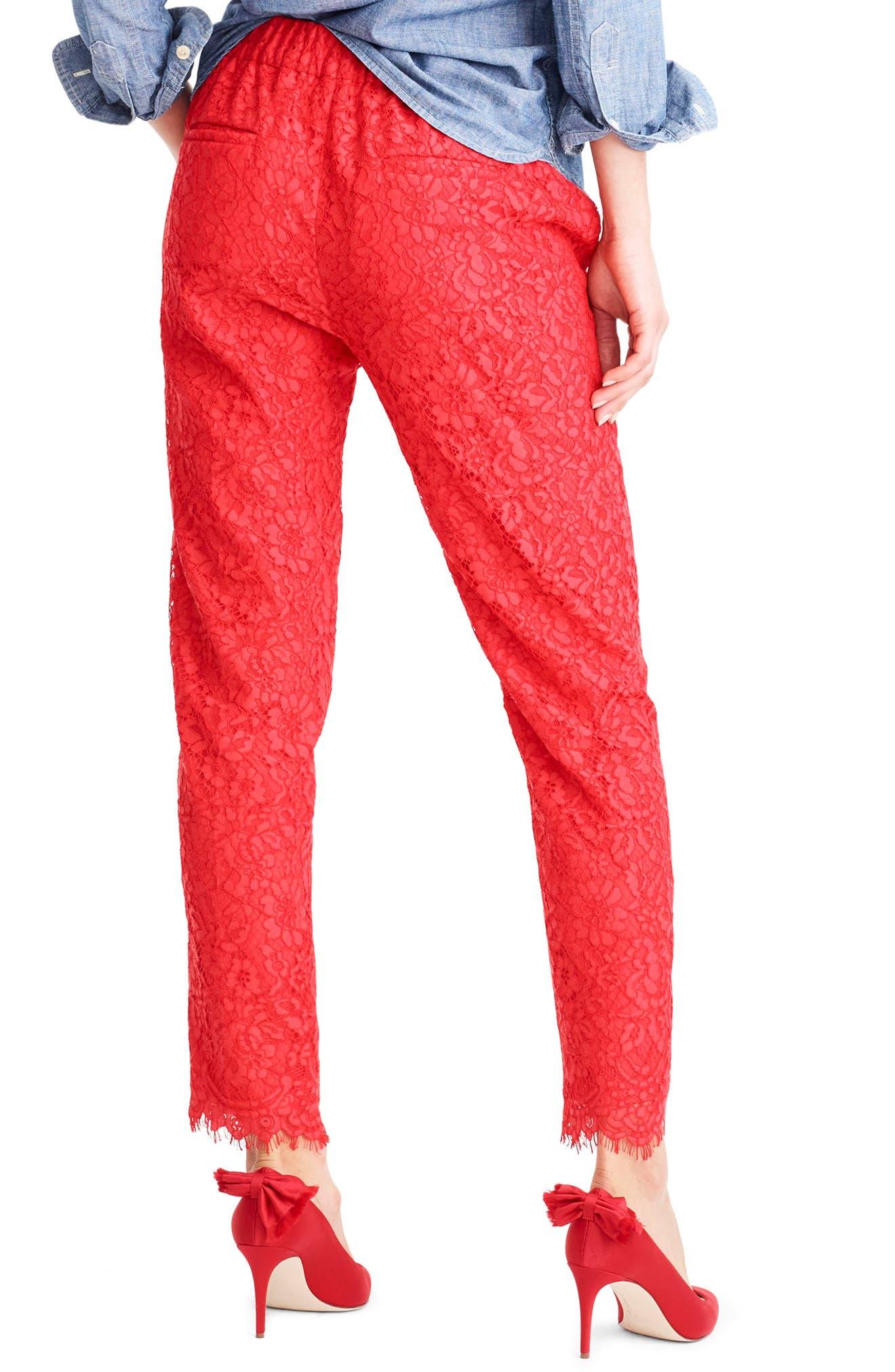 Lace Pants,                             Alternate thumbnail 3, color,