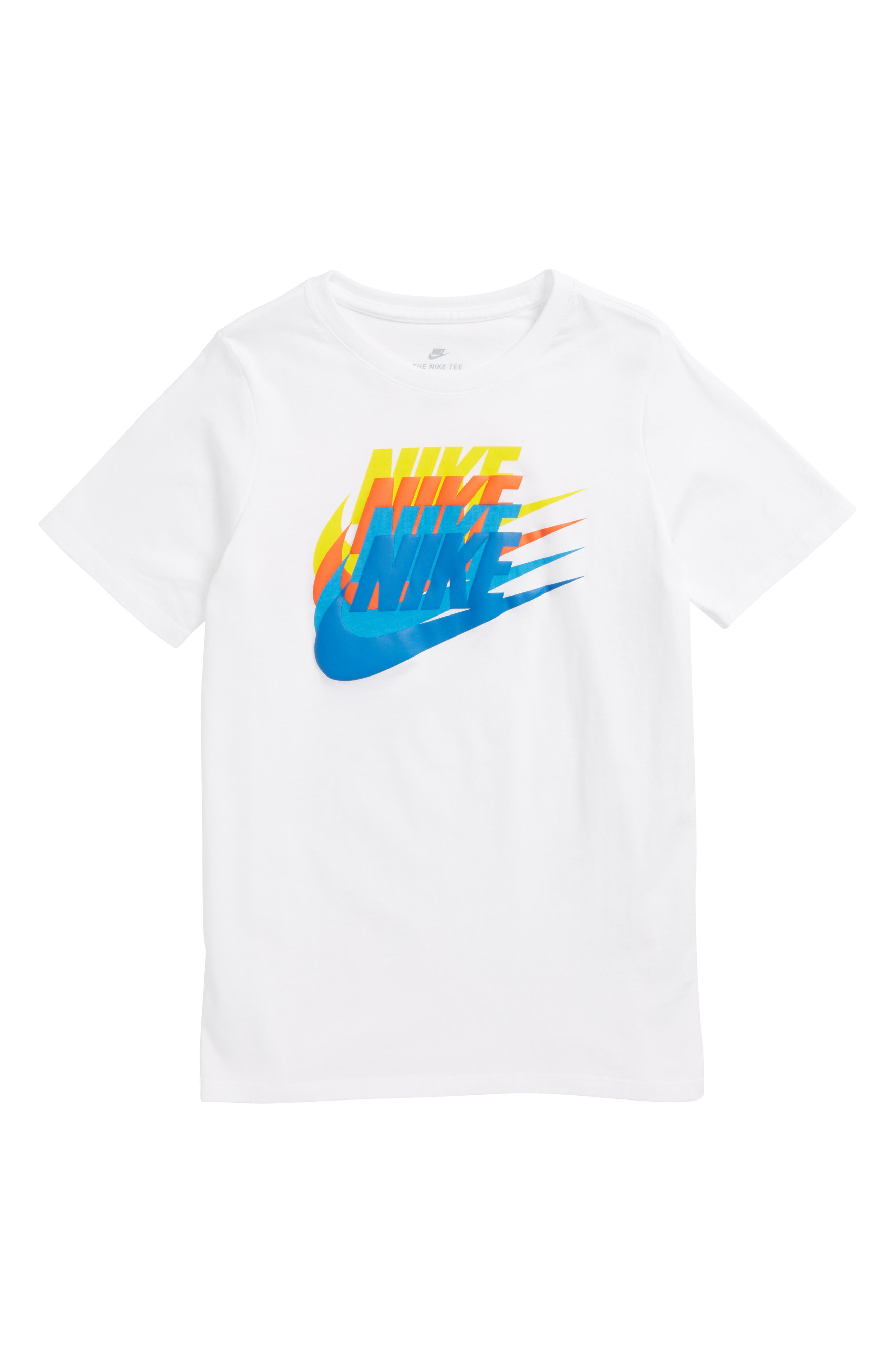 Sportswear Sunset Future Graphic T-Shirt,                             Main thumbnail 2, color,