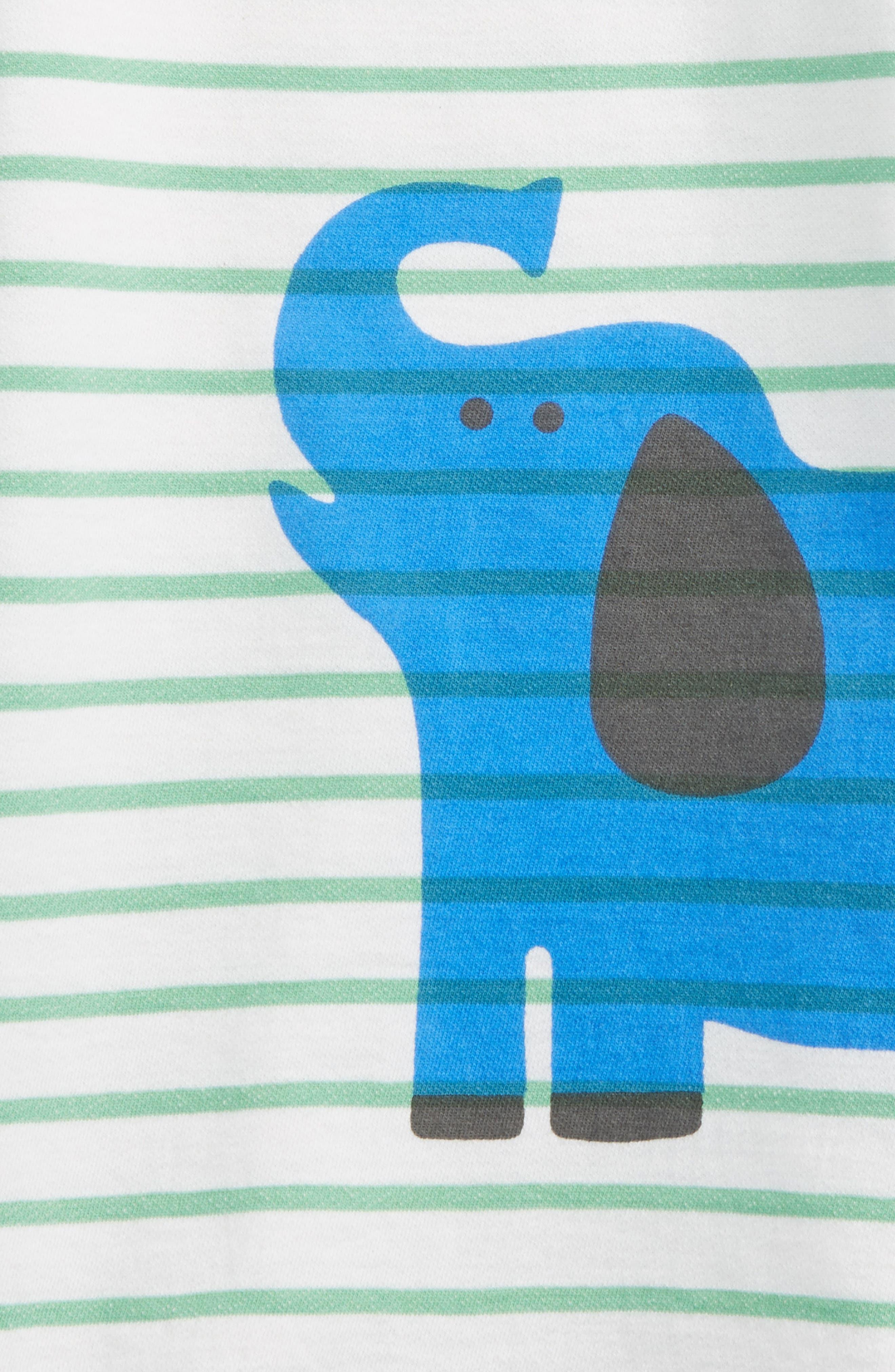 Stripe Romper,                         Main,                         color, 100