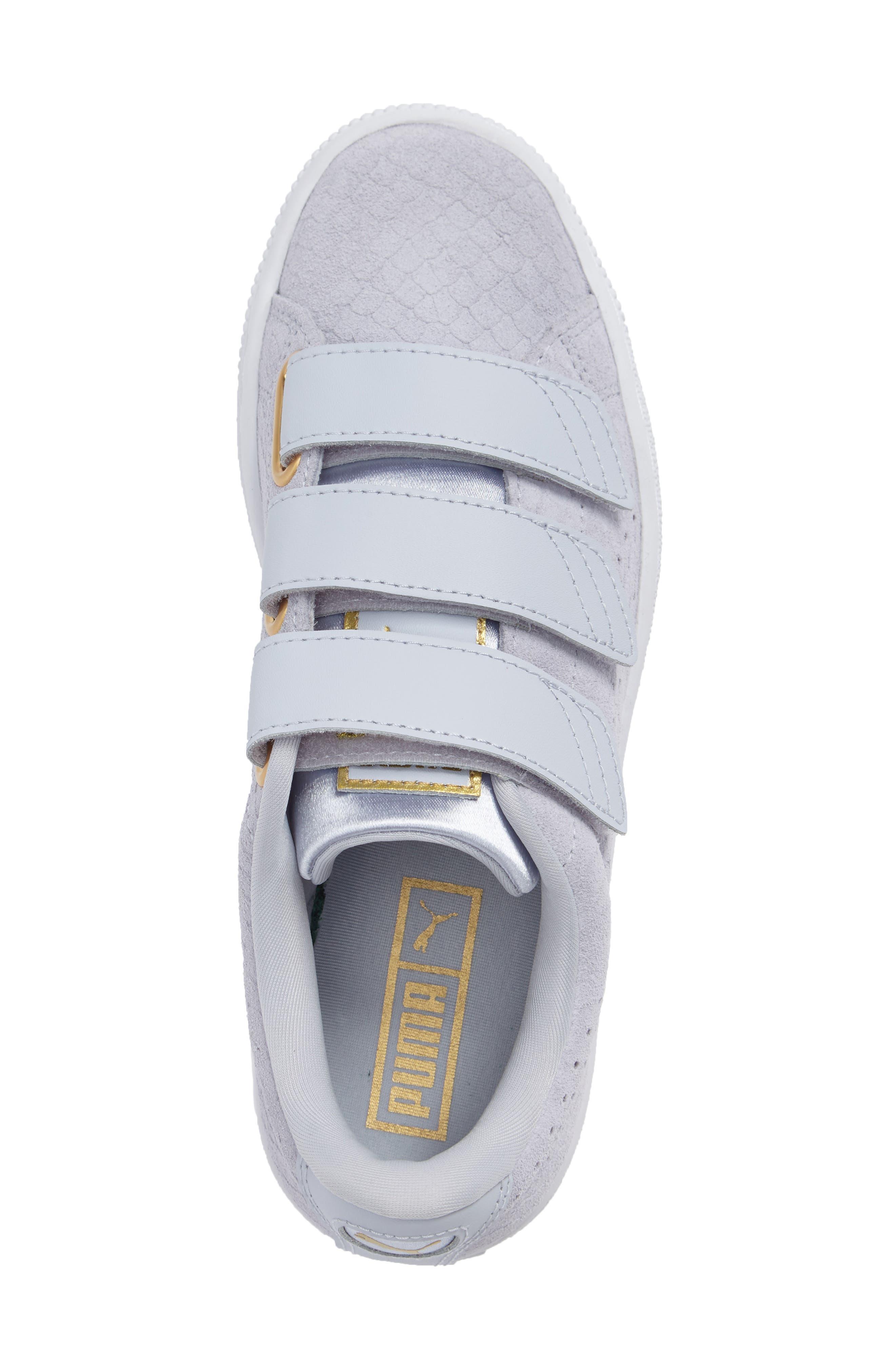 Basket Strap ExoticSkin Sneaker,                             Alternate thumbnail 12, color,