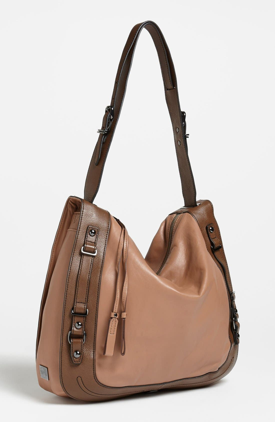 'Rory' Leather Tote, Main, color, 200
