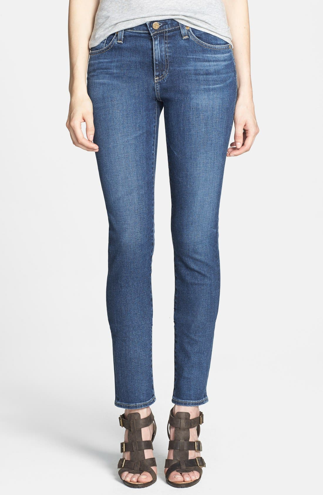 'Prima' Skinny Jeans,                             Main thumbnail 7, color,