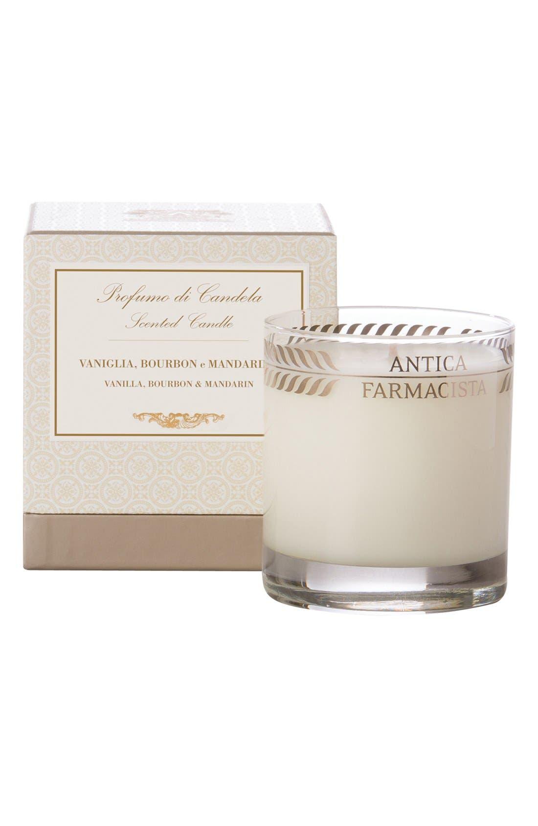 Vanilla, Bourbon & Mandarin Candle,                             Alternate thumbnail 4, color,                             NO COLOR
