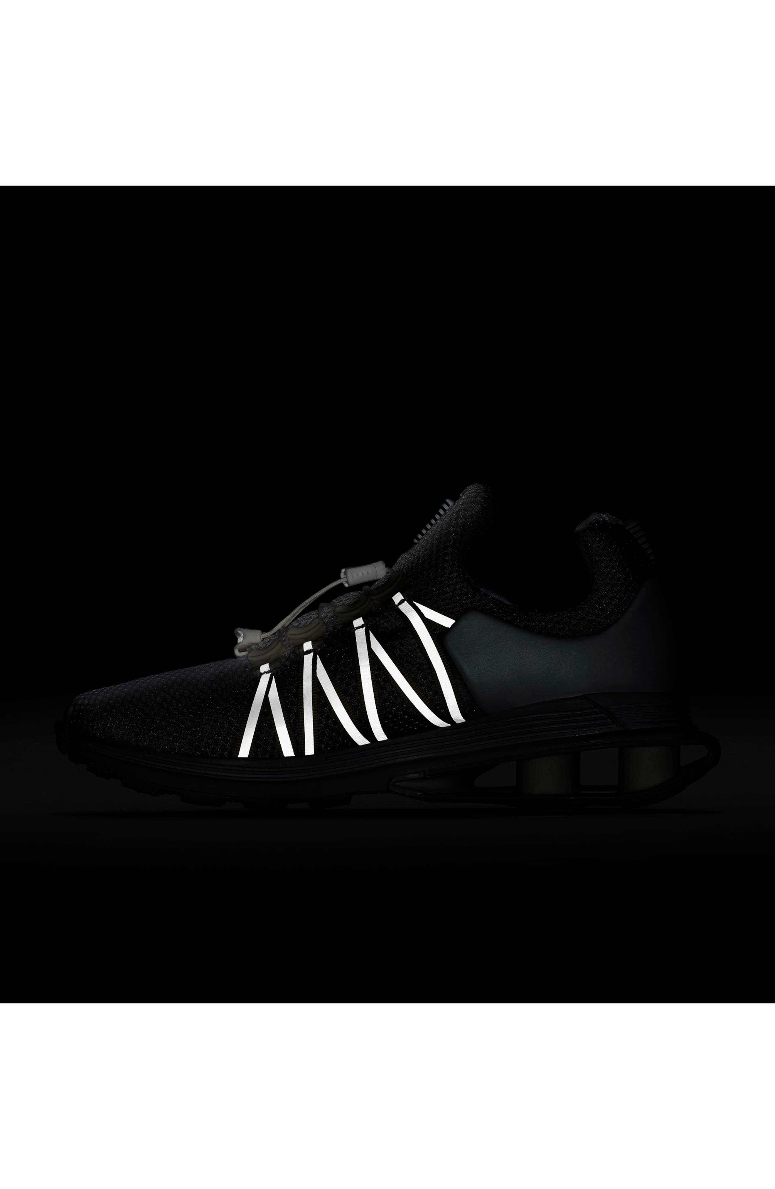Shox Gravity Sneaker,                             Alternate thumbnail 6, color,                             100