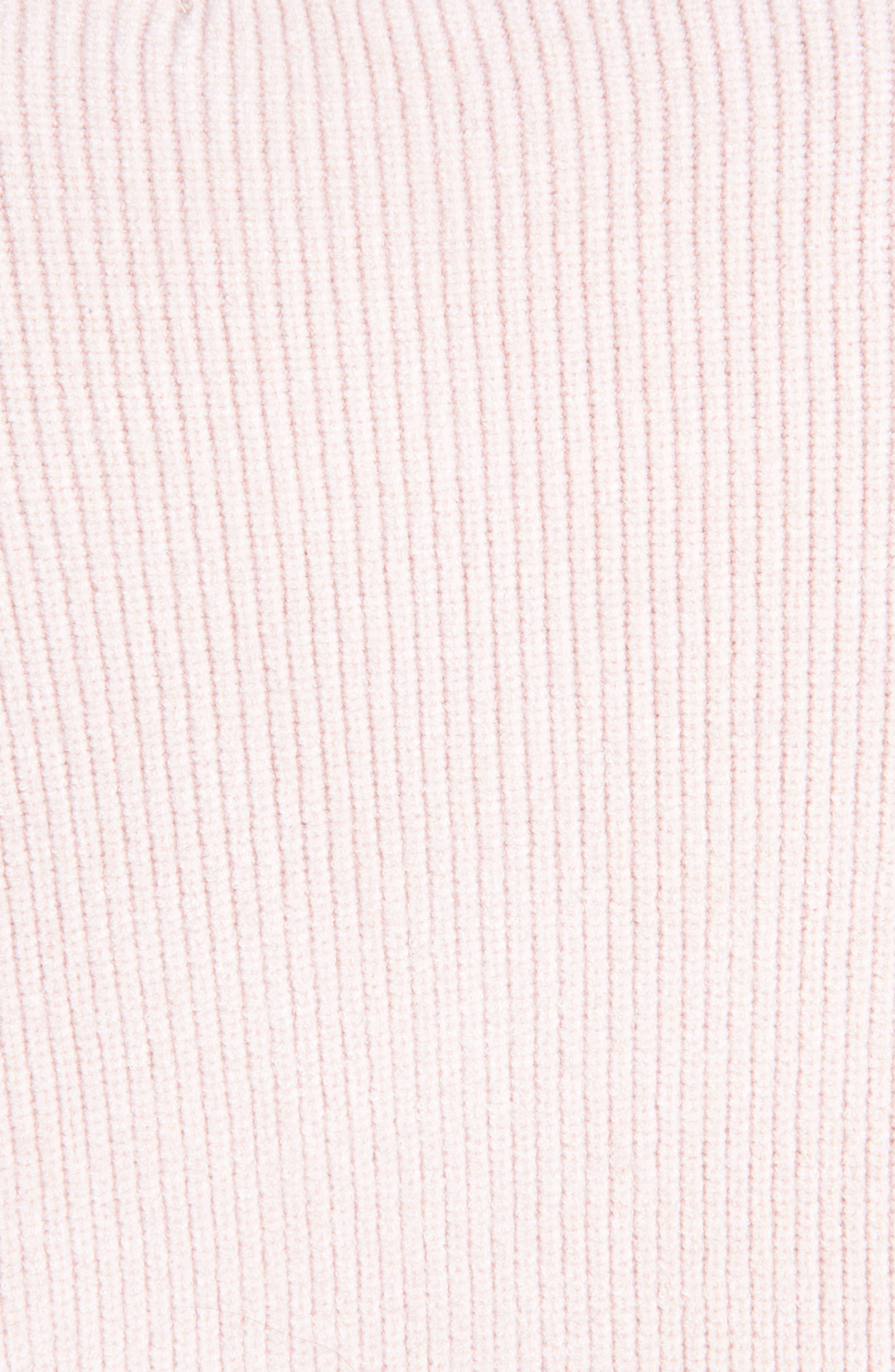 Dariella V-Neck Bell Cuff Sweater,                             Alternate thumbnail 4, color,