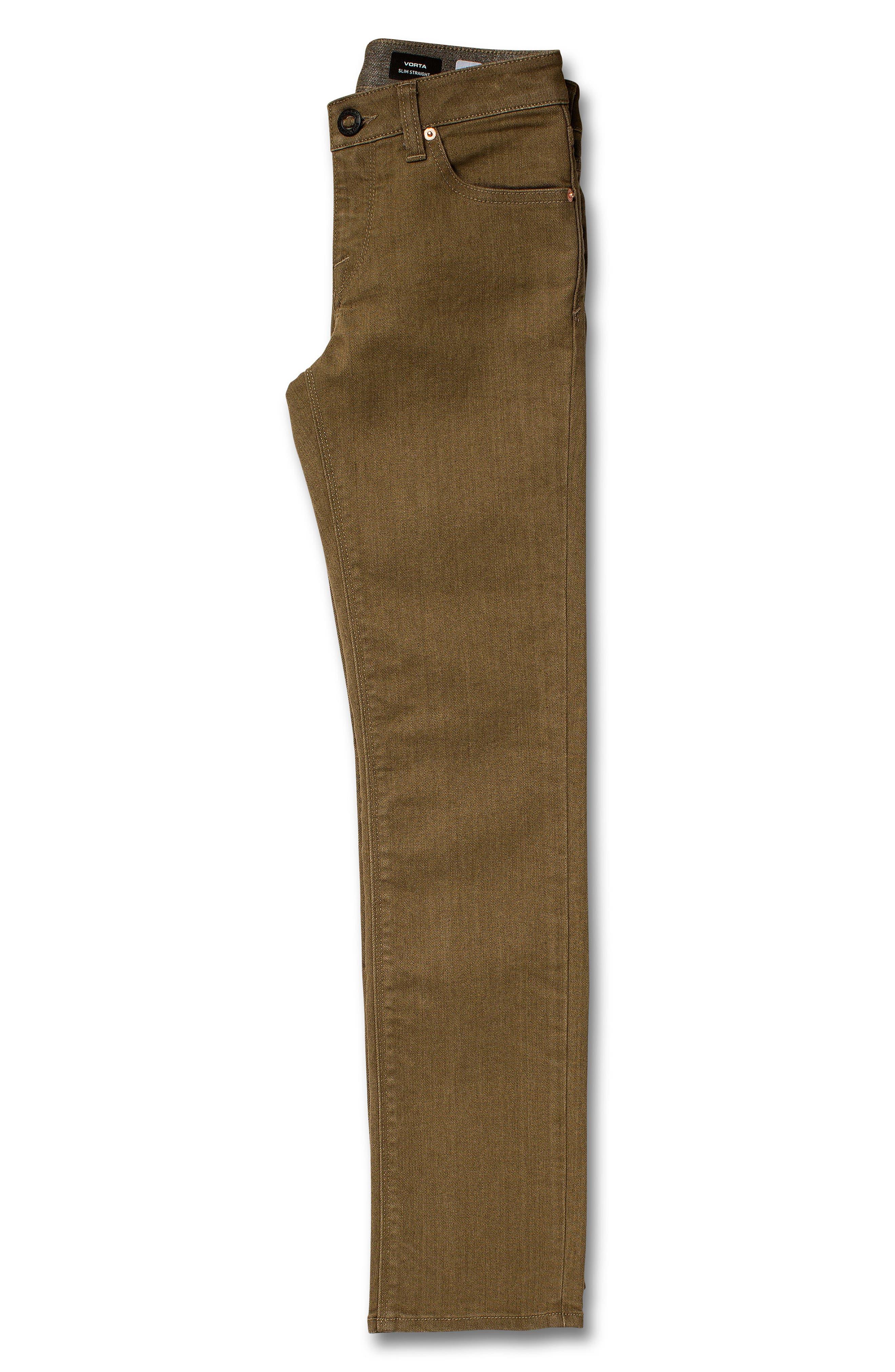 Vorta Slim Fit Jeans,                             Alternate thumbnail 3, color,                             WET SAND