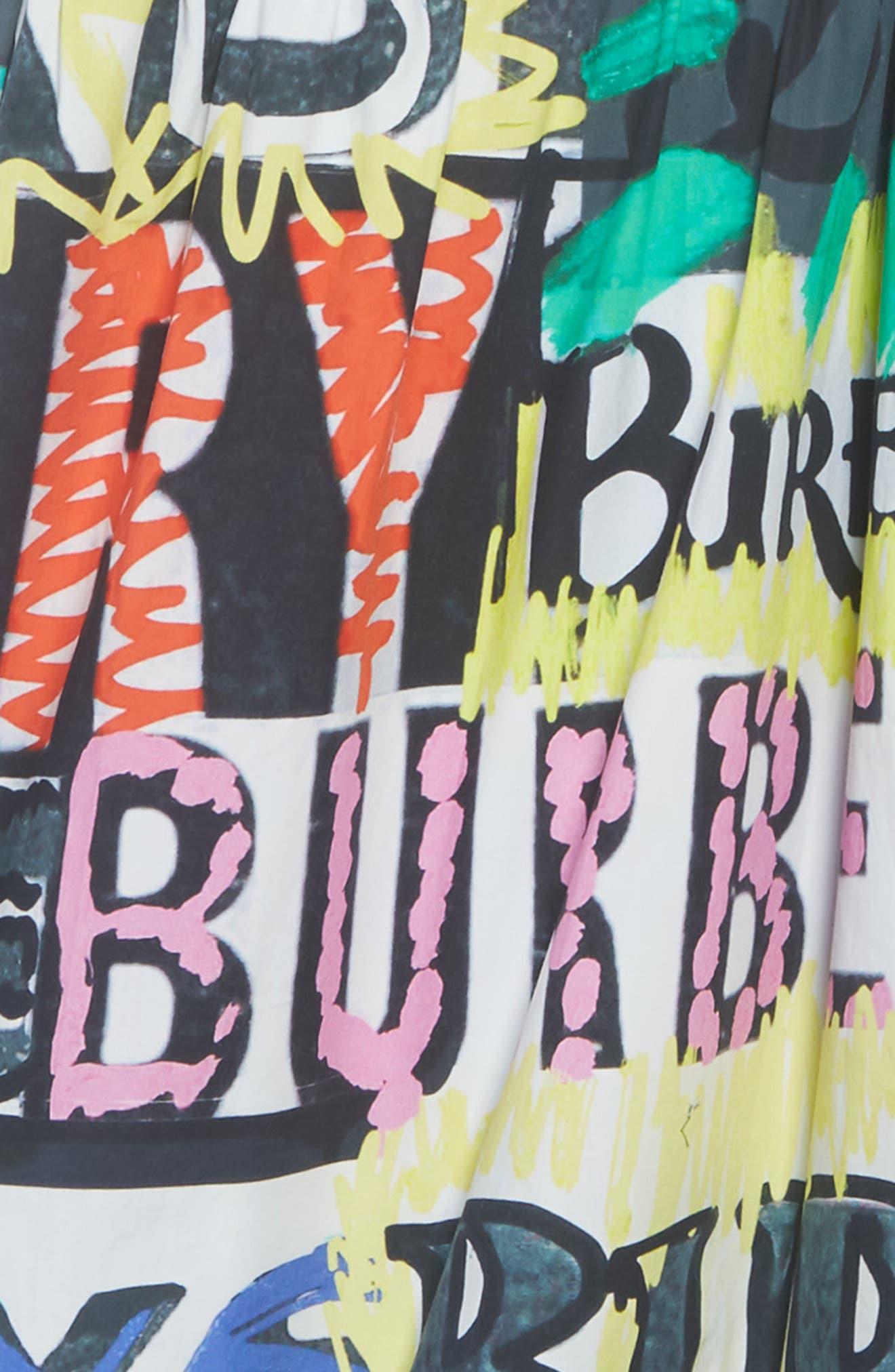 Annabel Graphic Dress,                             Alternate thumbnail 3, color,                             MULTICOLOUR