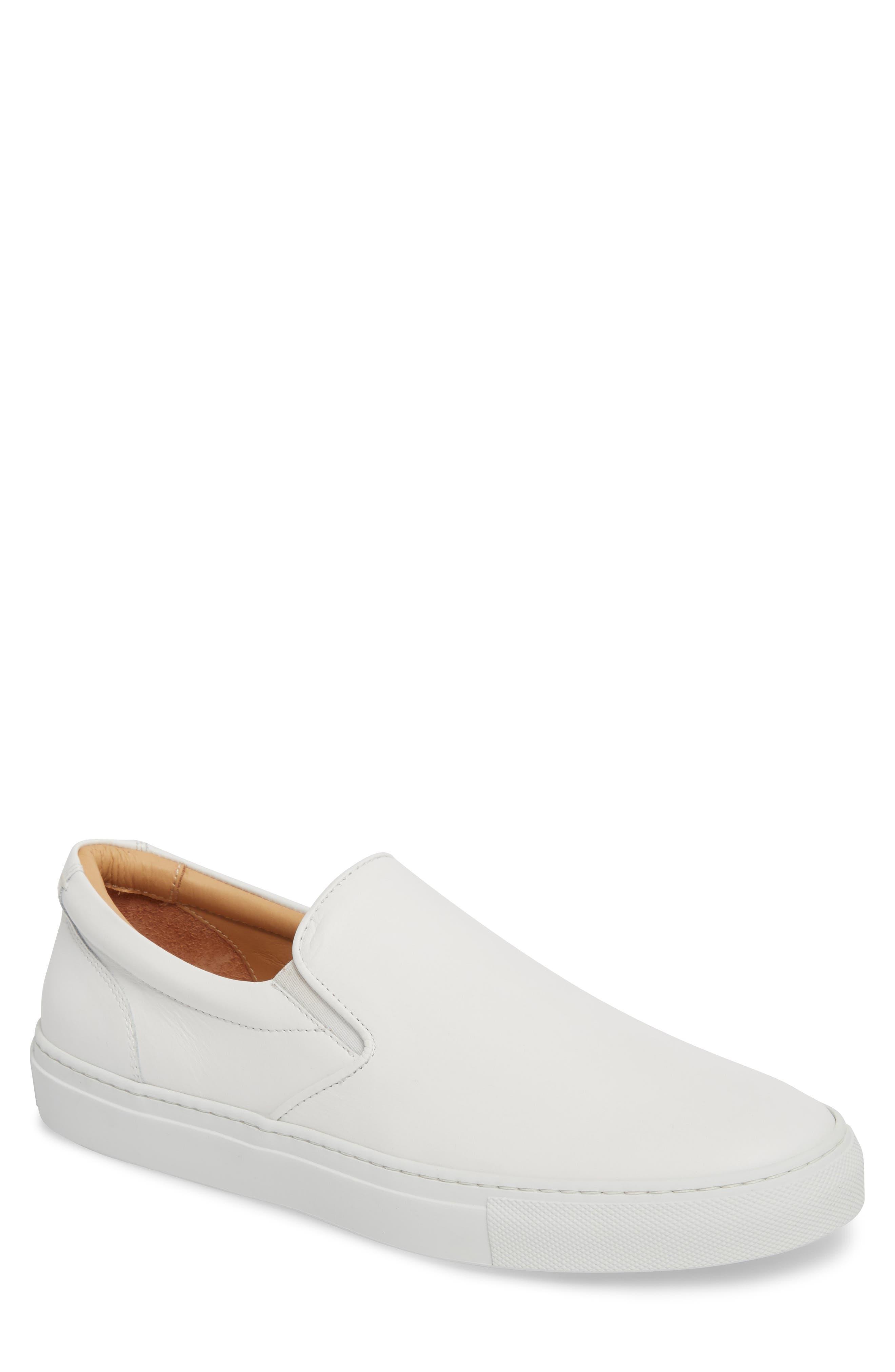 Greats Wooster Slip-On Sneaker, White
