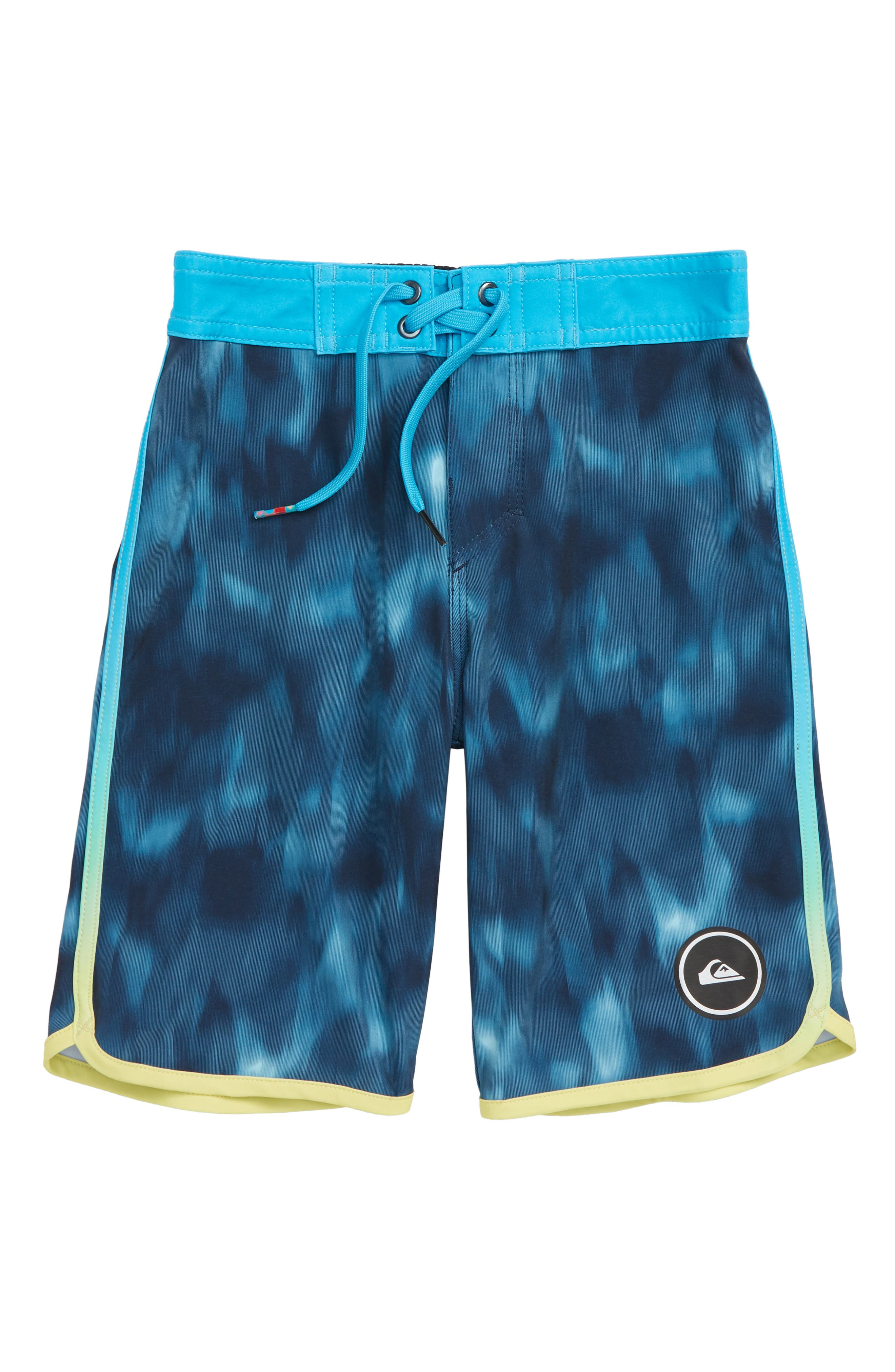 Highline Recon Board Shorts,                         Main,                         color, REAL TEAL