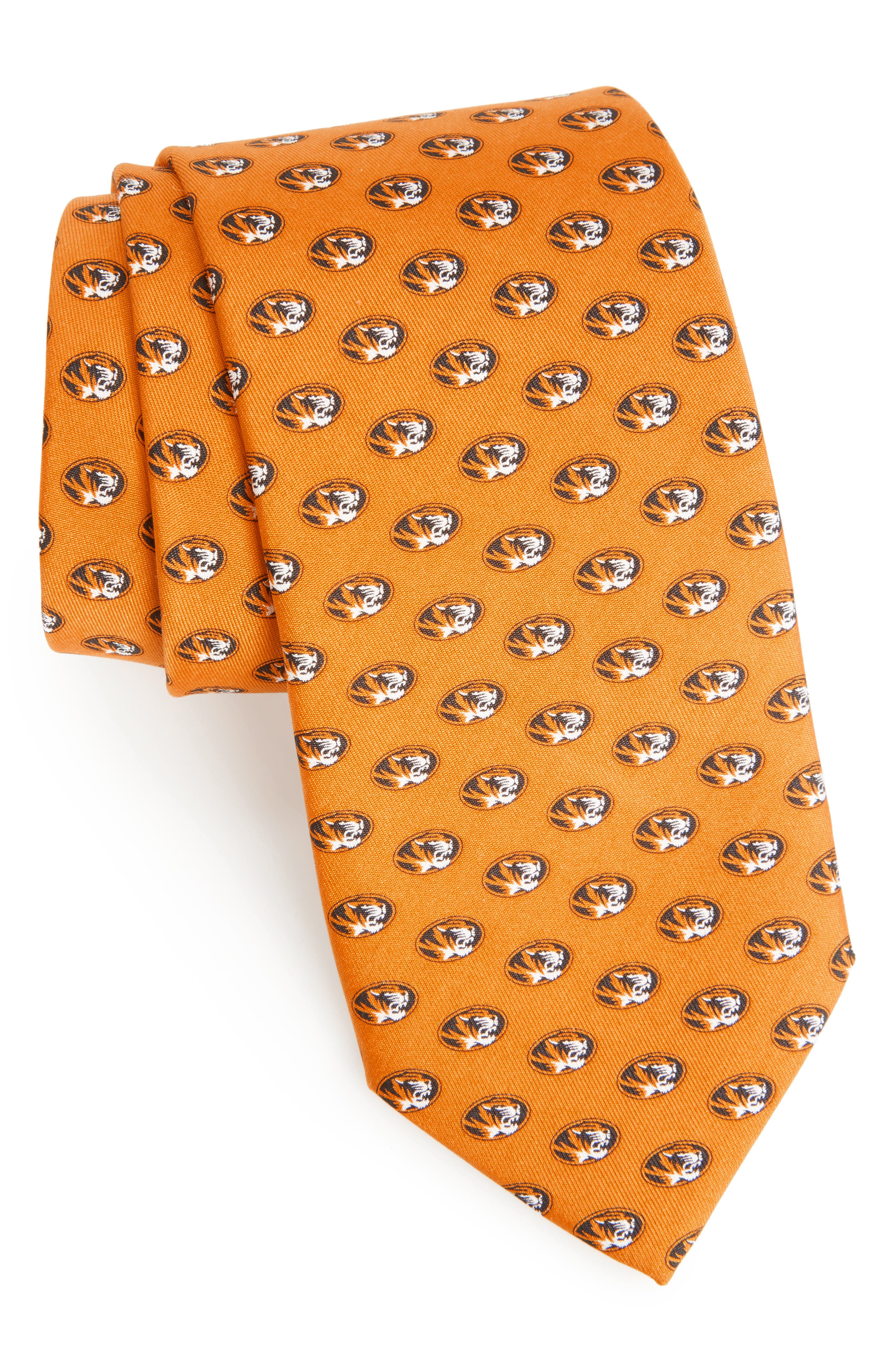University of Missouri Silk Tie,                         Main,                         color, 709