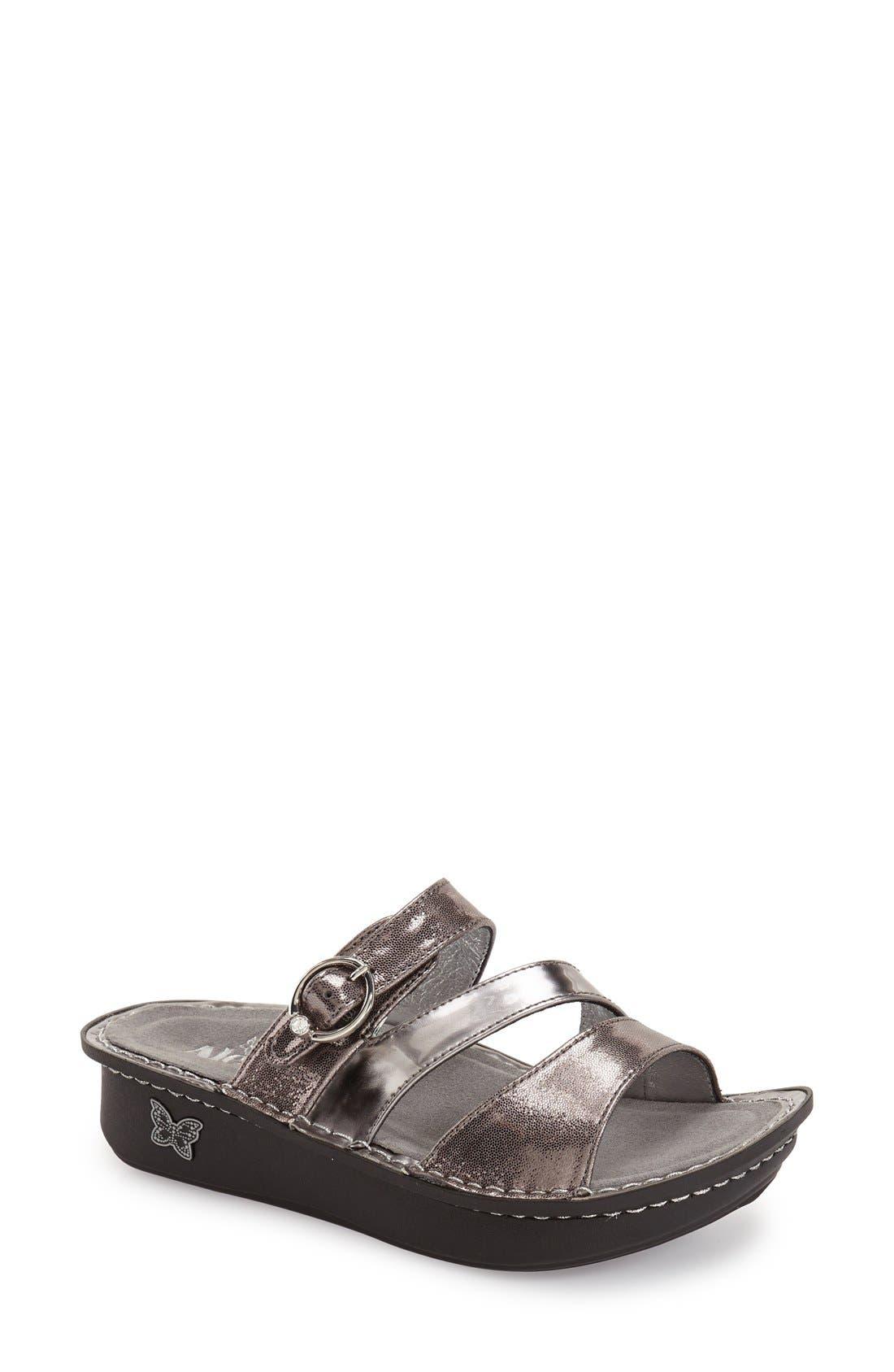 'Colette' Platform Sandal,                             Main thumbnail 7, color,