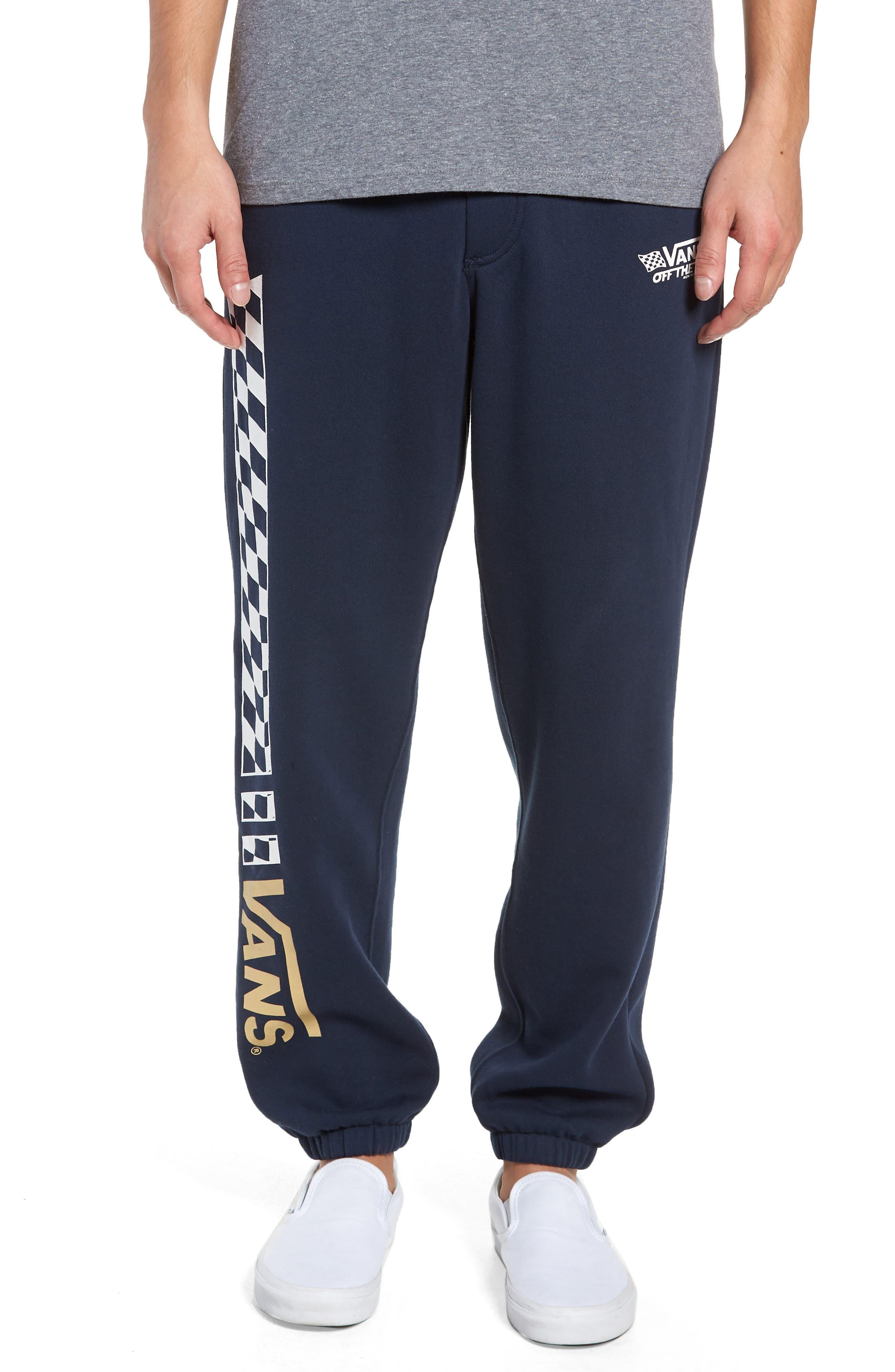 Crossed Sticks Fleece Sweatpants,                             Main thumbnail 1, color,                             401