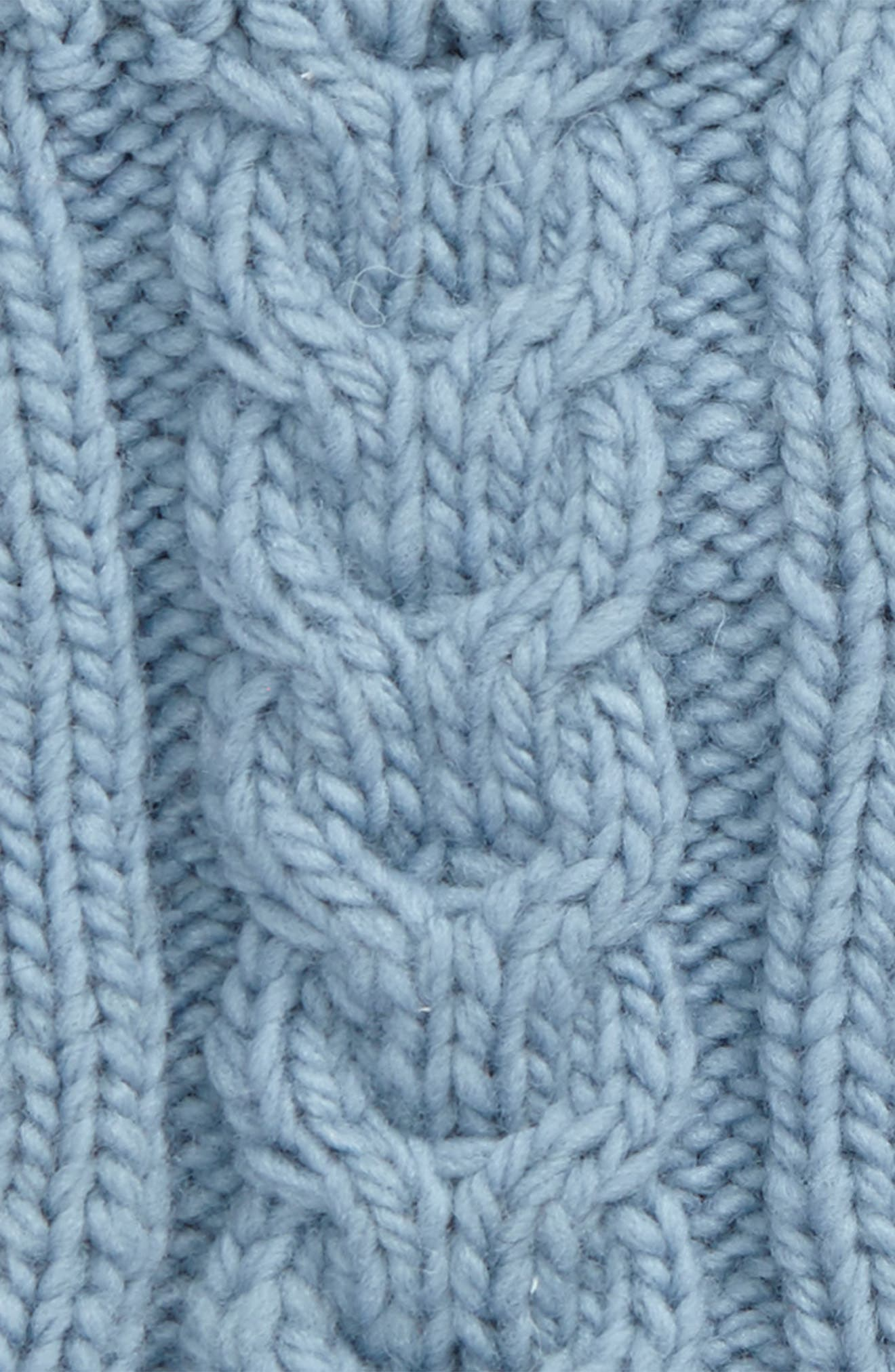 NirvannaDesigns Cable Knit Hand Warmers,                             Alternate thumbnail 10, color,