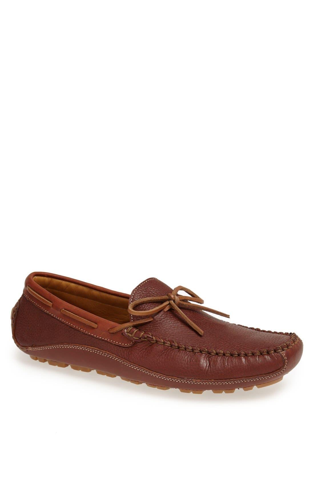 'Drake' Leather Driving Shoe,                             Main thumbnail 5, color,