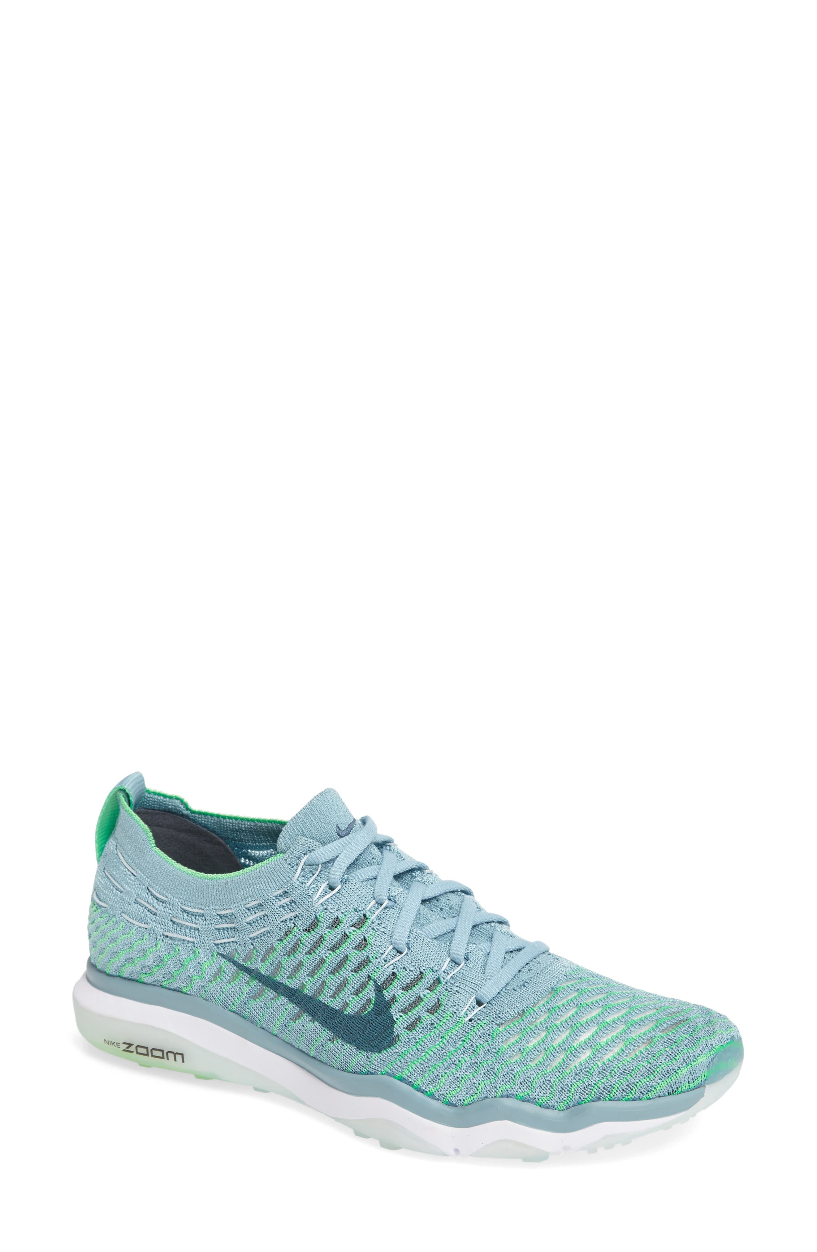 Air Zoom Fearless Flyknit Training Shoe,                             Main thumbnail 10, color,