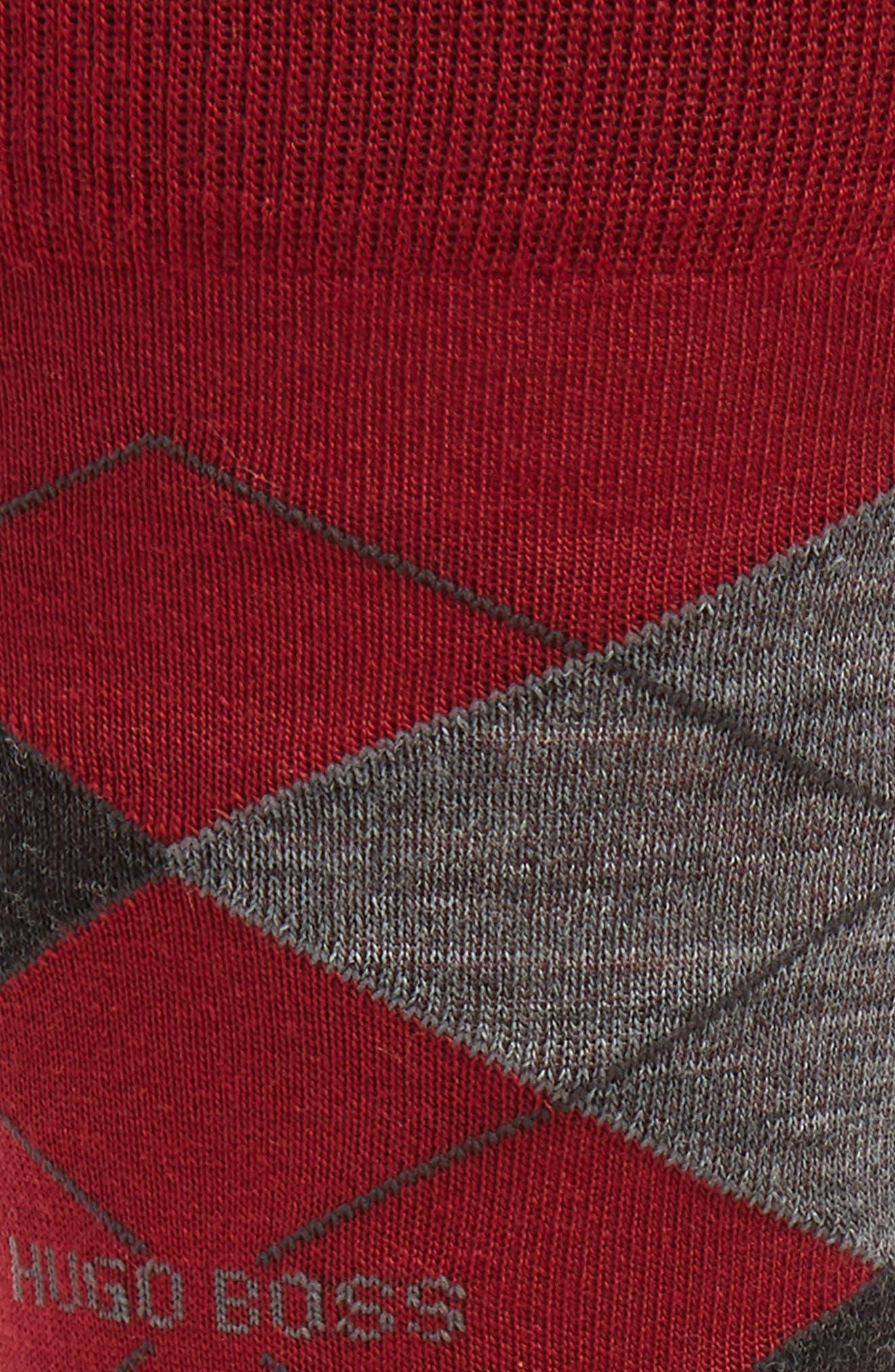 Argyle Socks,                             Alternate thumbnail 2, color,                             608