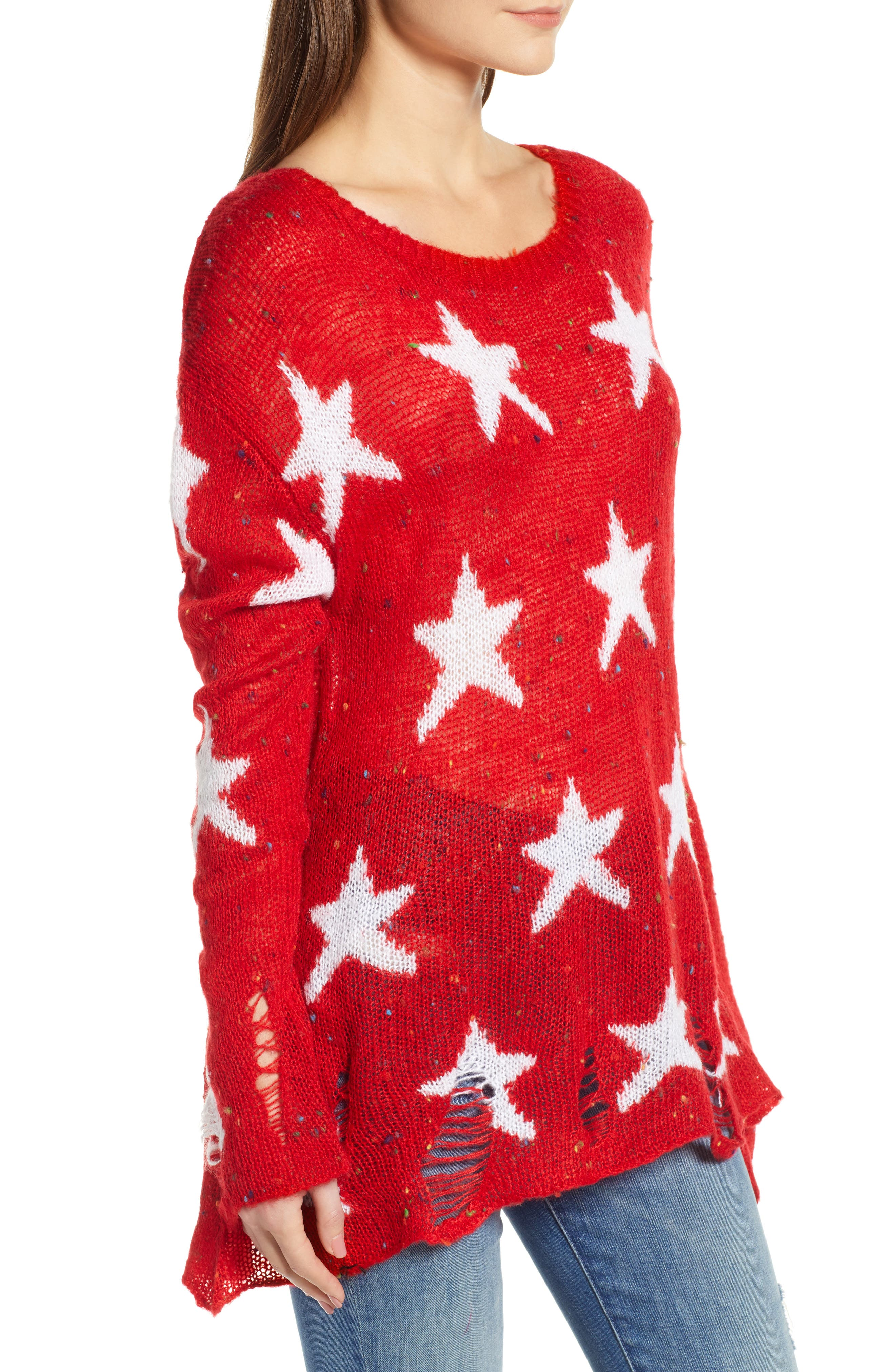 Seeing Stars Lennon Sweater,                             Alternate thumbnail 3, color,                             620