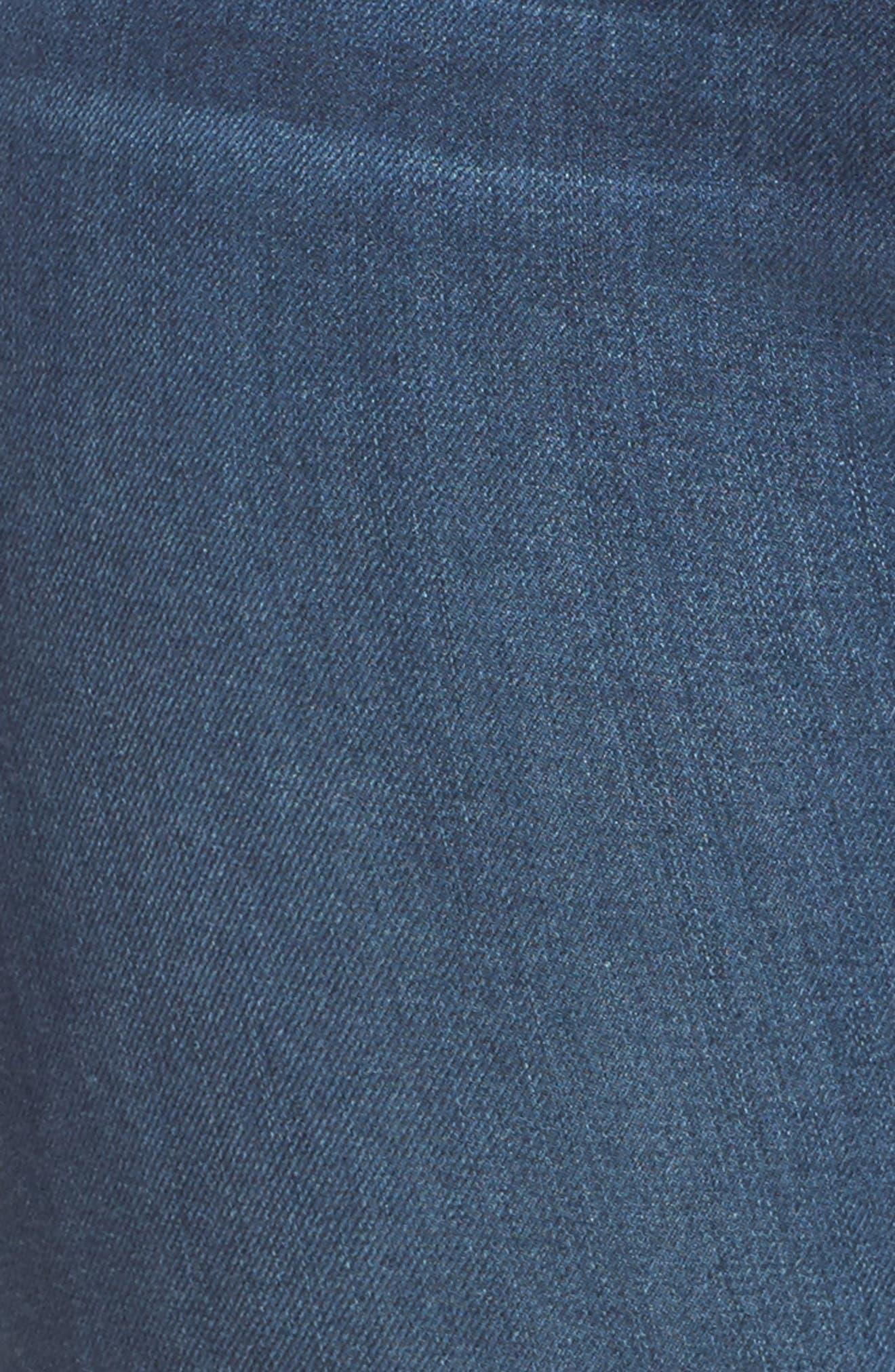 Good Waist High Rise Skinny Jeans,                             Alternate thumbnail 6, color,                             BLUE013