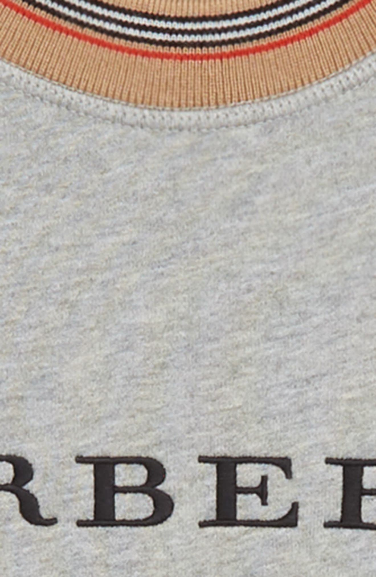 Hectore Stripe Sweater,                             Alternate thumbnail 2, color,                             GREY MELANGE