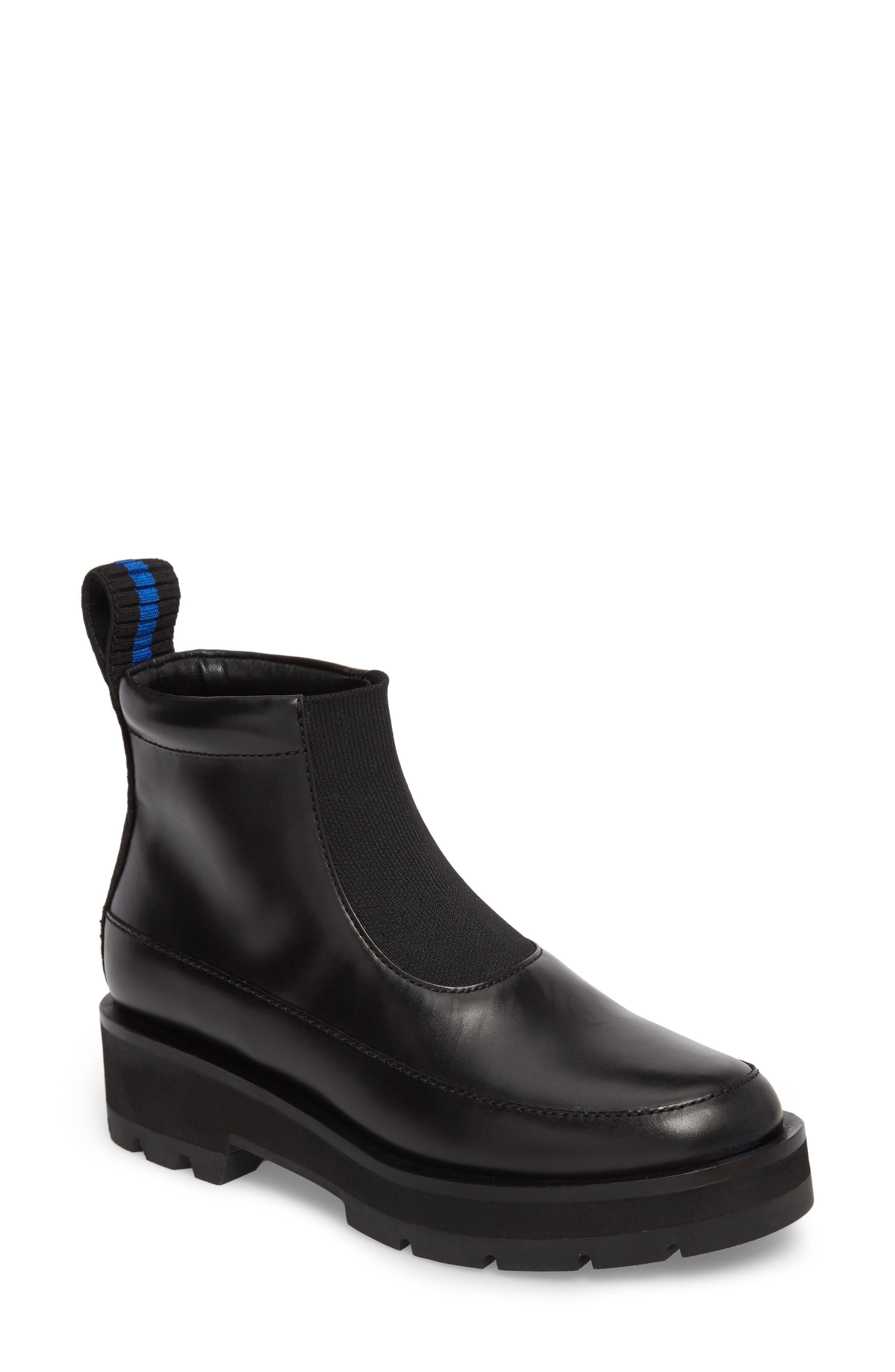 Avril Lug Boot,                         Main,                         color, BLACK