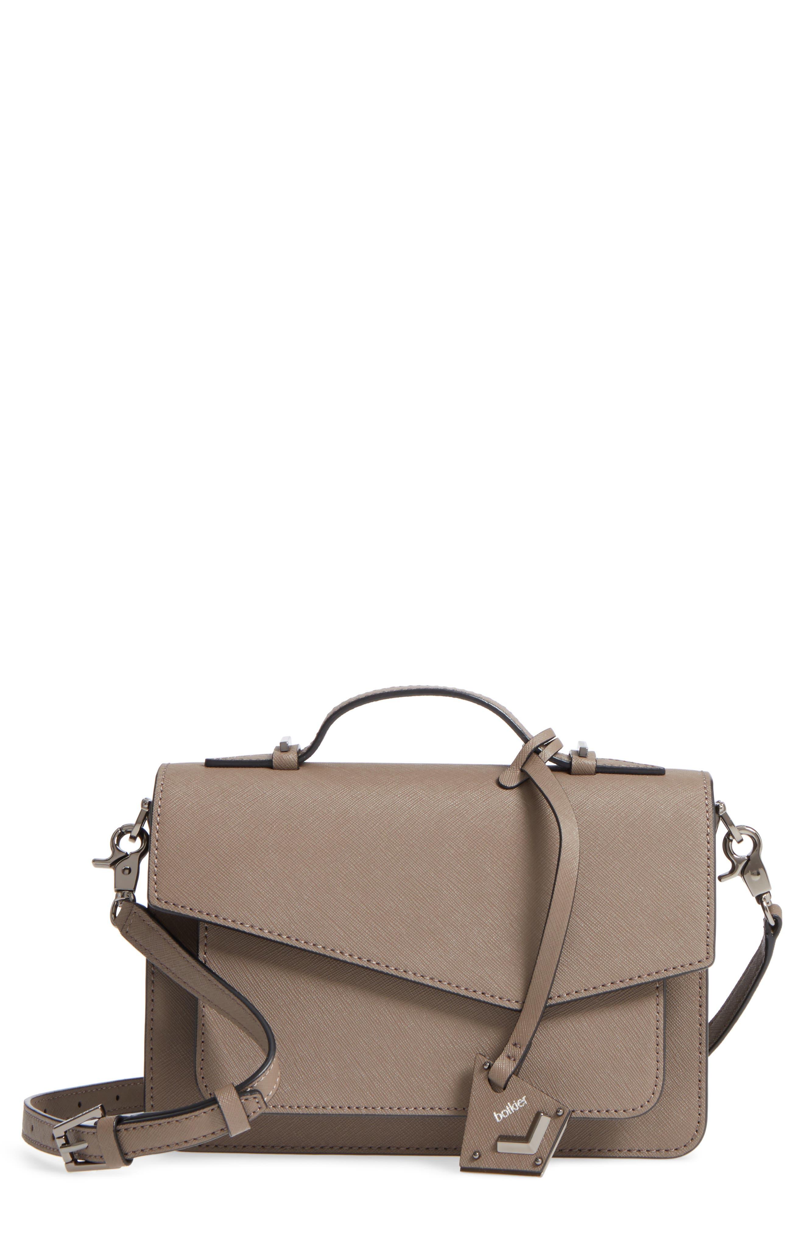 Cobble Hill Leather Crossbody Bag,                             Main thumbnail 7, color,