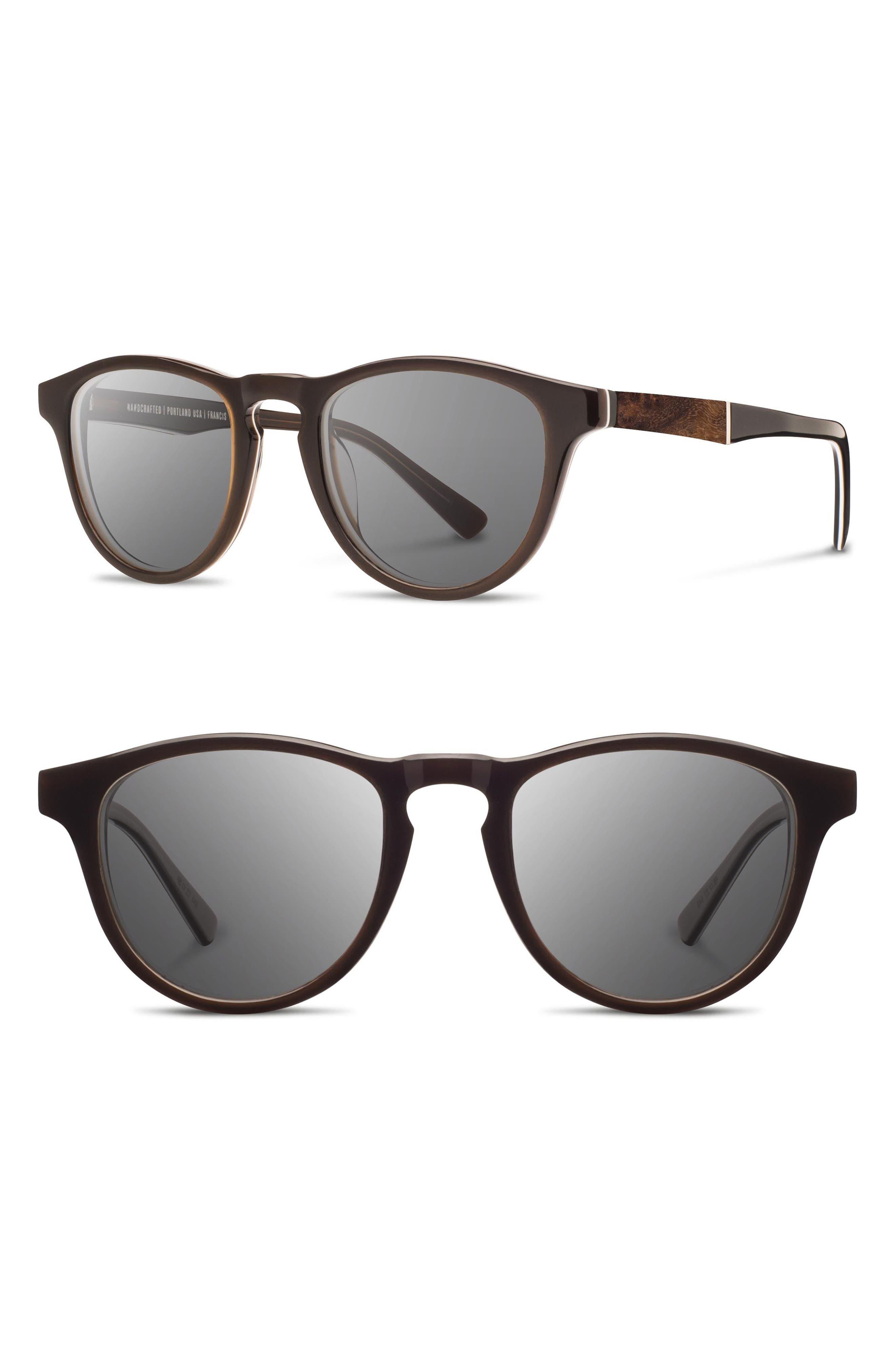 'Francis' 49mm Polarized Sunglasses,                             Alternate thumbnail 11, color,
