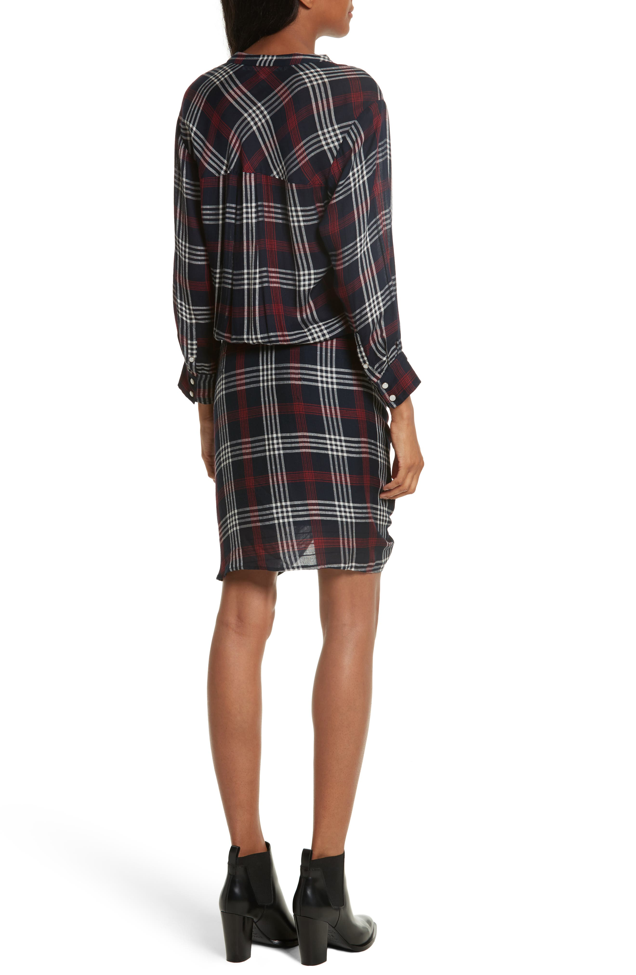 Emory Ruched Cargo Shirtdress,                             Alternate thumbnail 2, color,                             410
