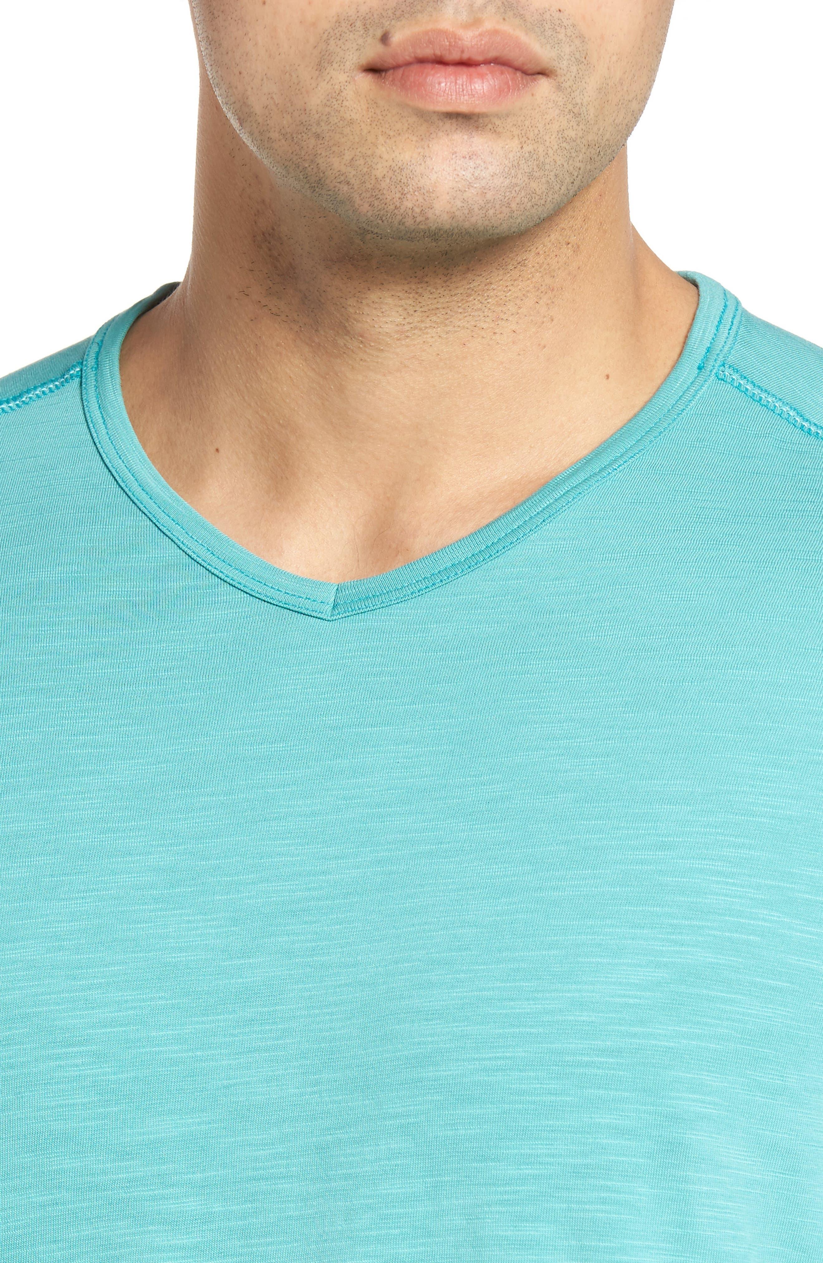 'Portside Player' Pima Cotton T-Shirt,                             Alternate thumbnail 44, color,