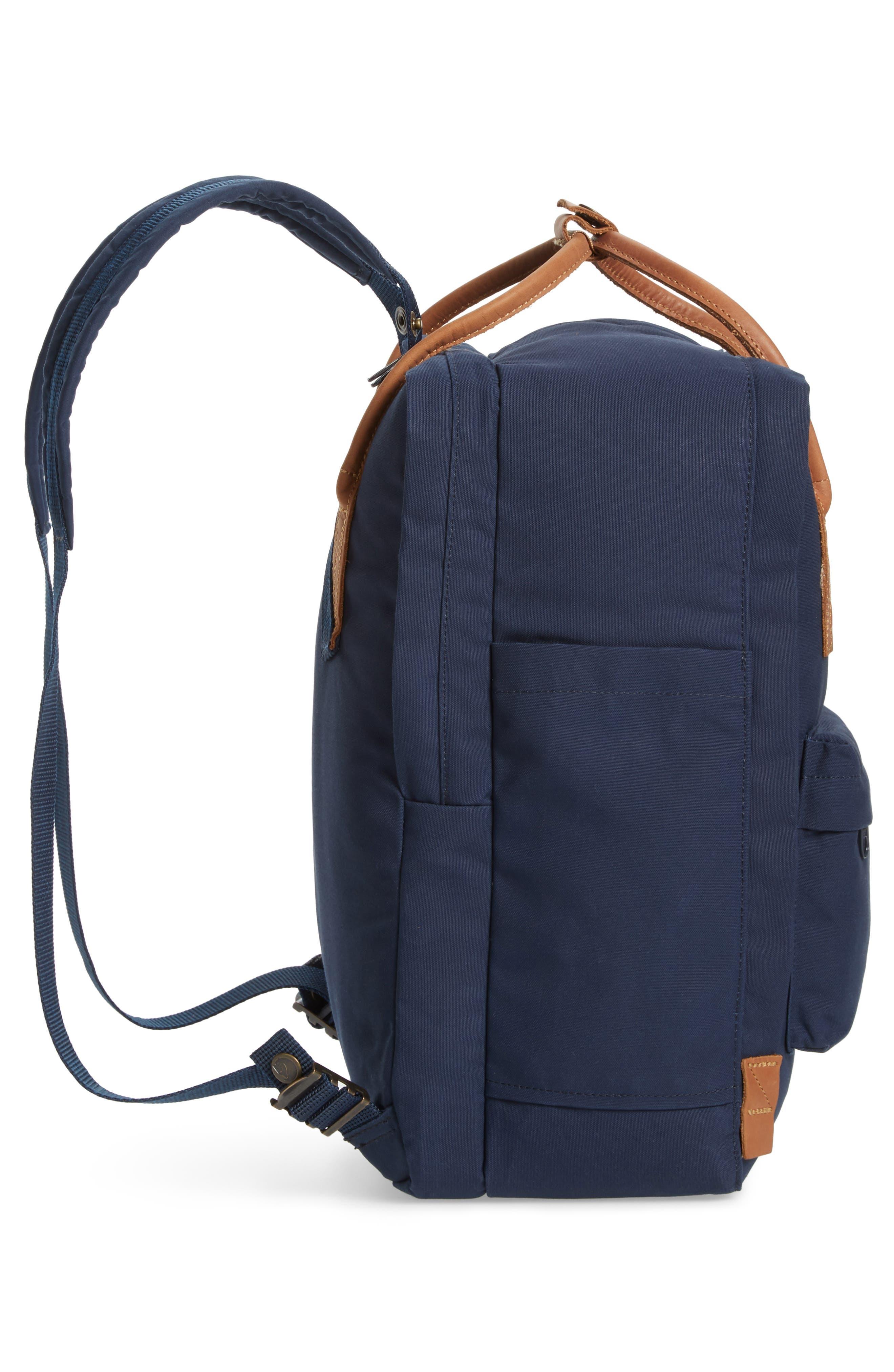 """Kånken No. 2 15"""" Laptop Backpack,                             Alternate thumbnail 5, color,                             NAVY"""