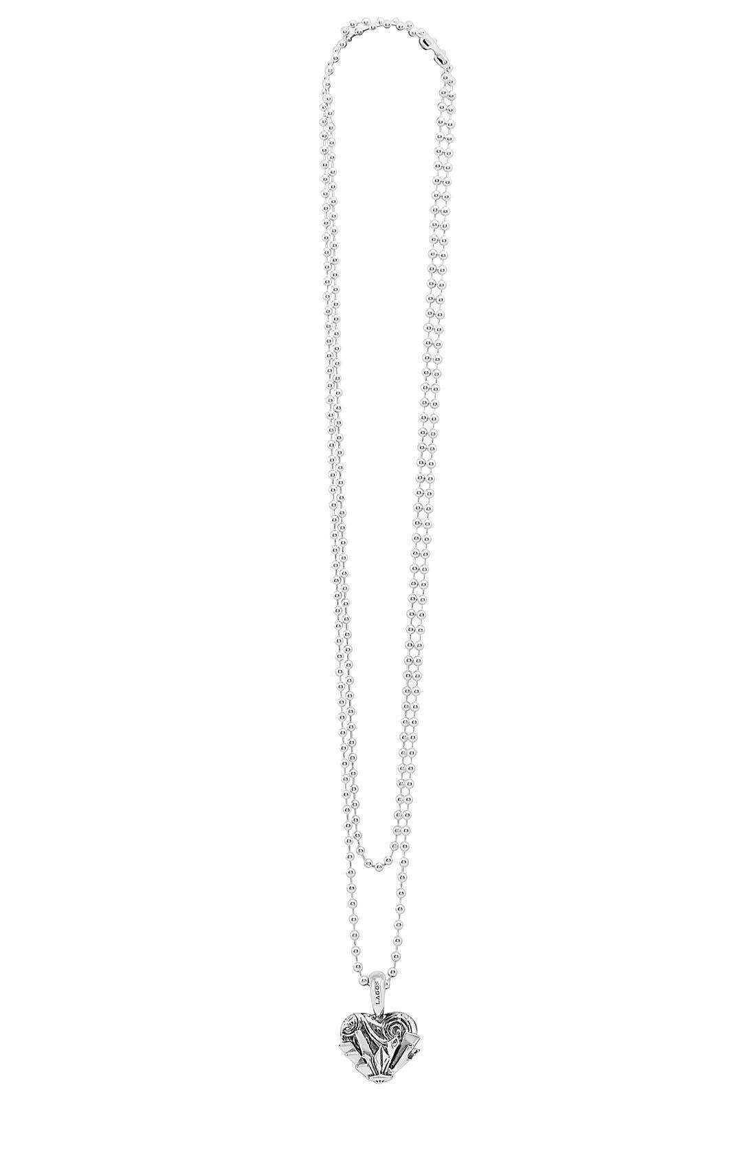 'Hearts of Lagos - Seattle' Reversible Pendant Necklace,                             Alternate thumbnail 22, color,