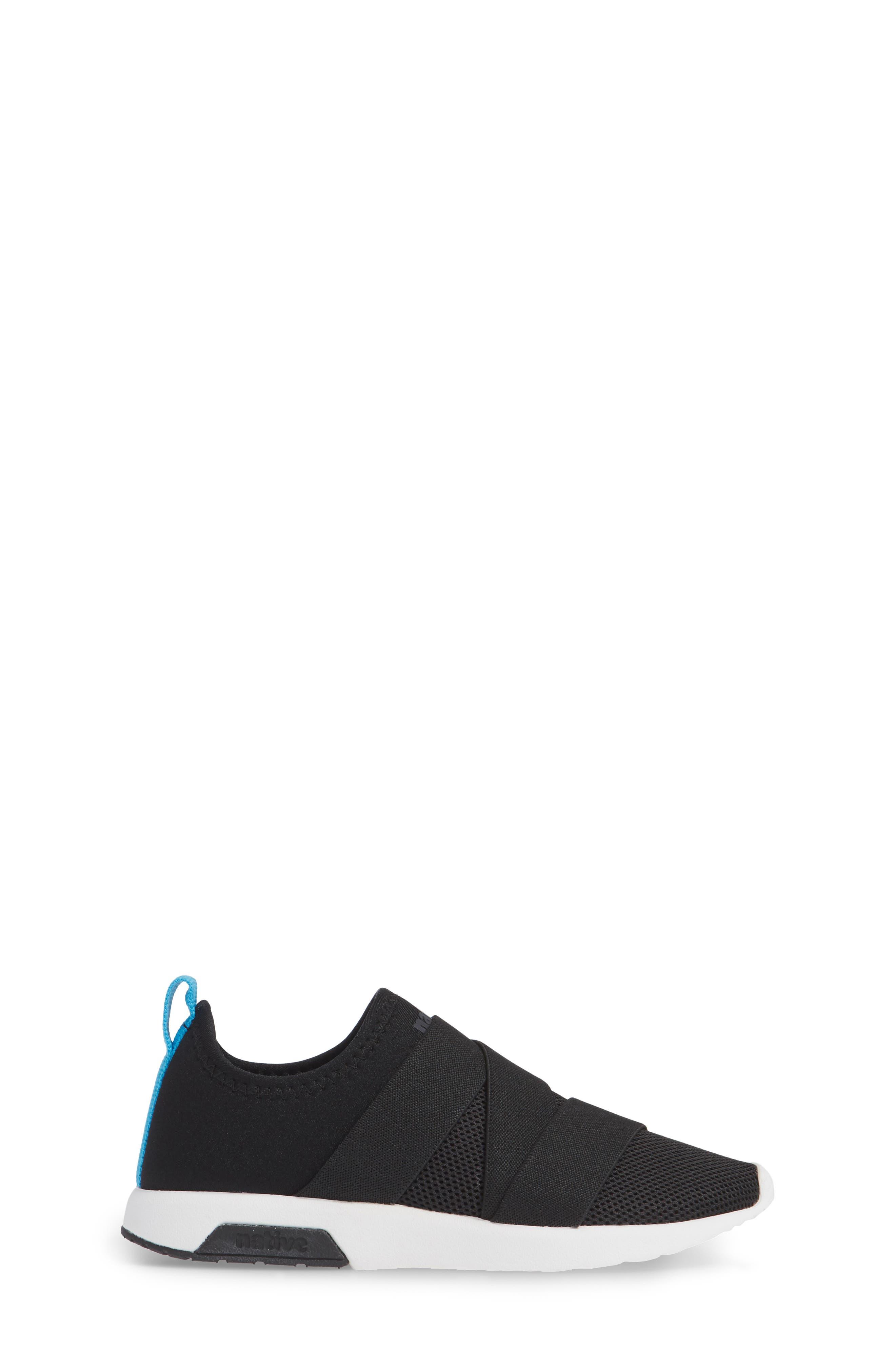 Phoenix Slip-On Sneaker,                             Alternate thumbnail 3, color,                             JIFFY BLACK/ SHELL WHITE