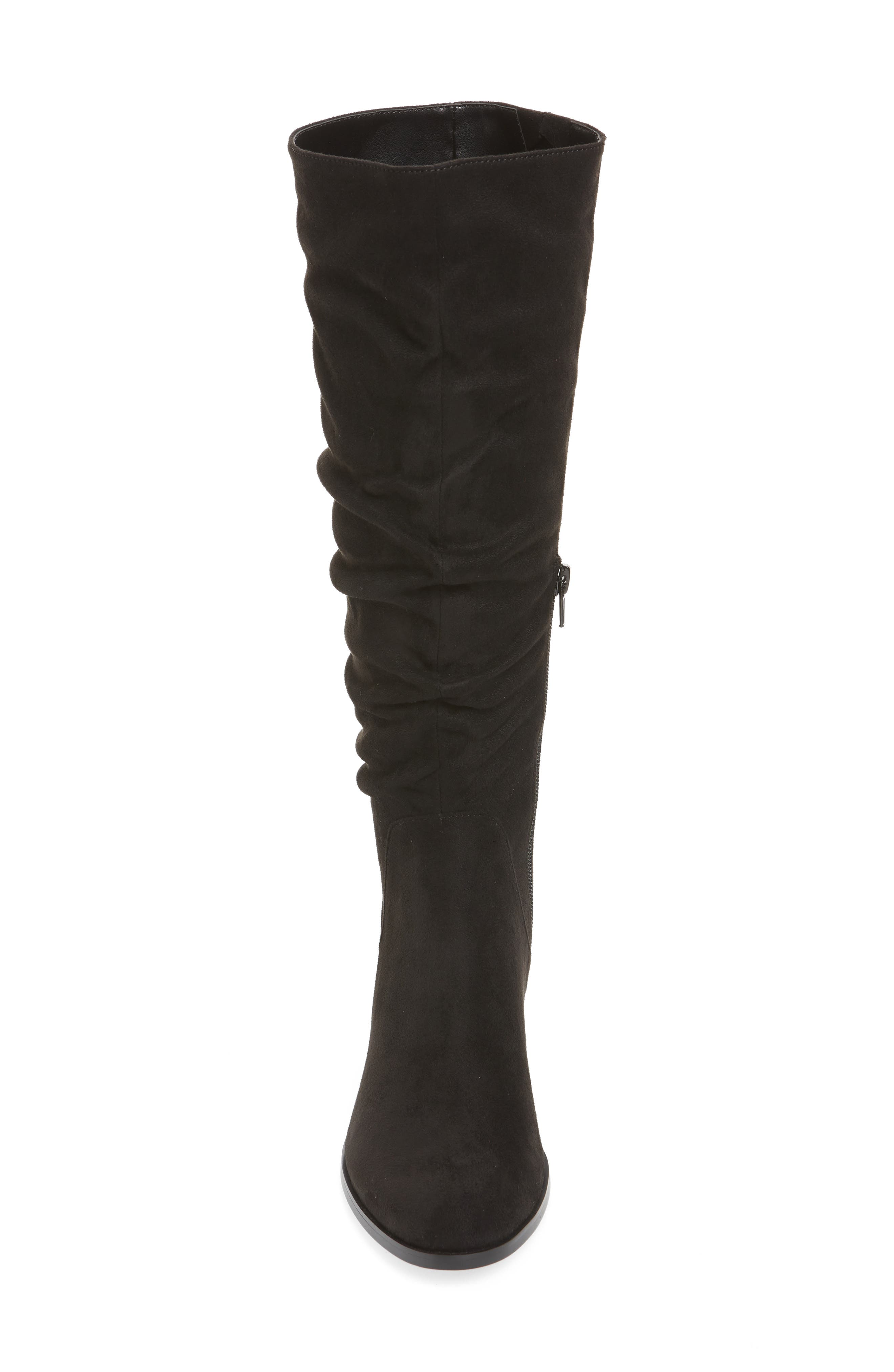 Guru Slouchy Knee High Boot,                             Alternate thumbnail 4, color,                             001