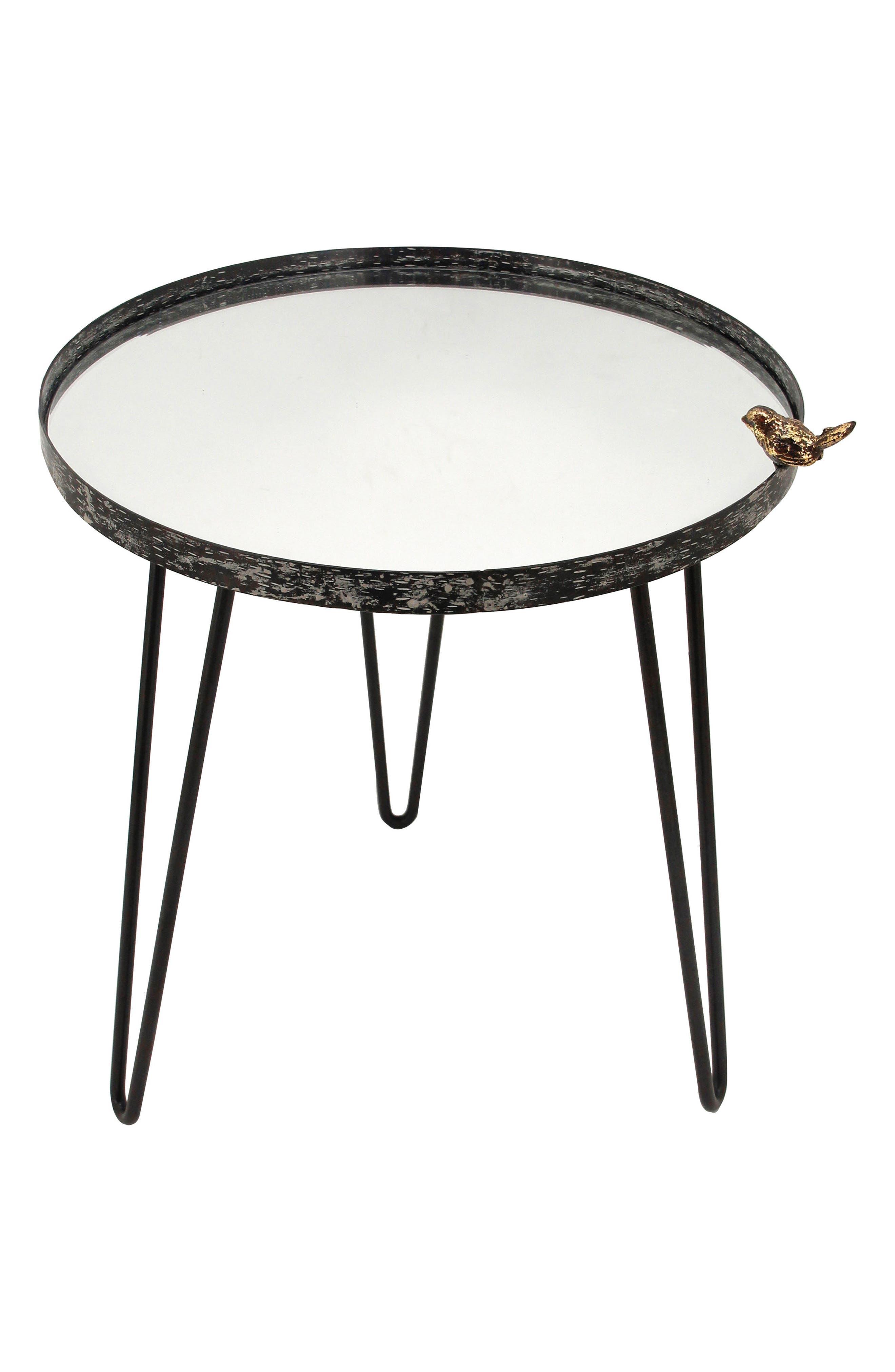 Bird Mirror Side Table,                         Main,                         color, 001