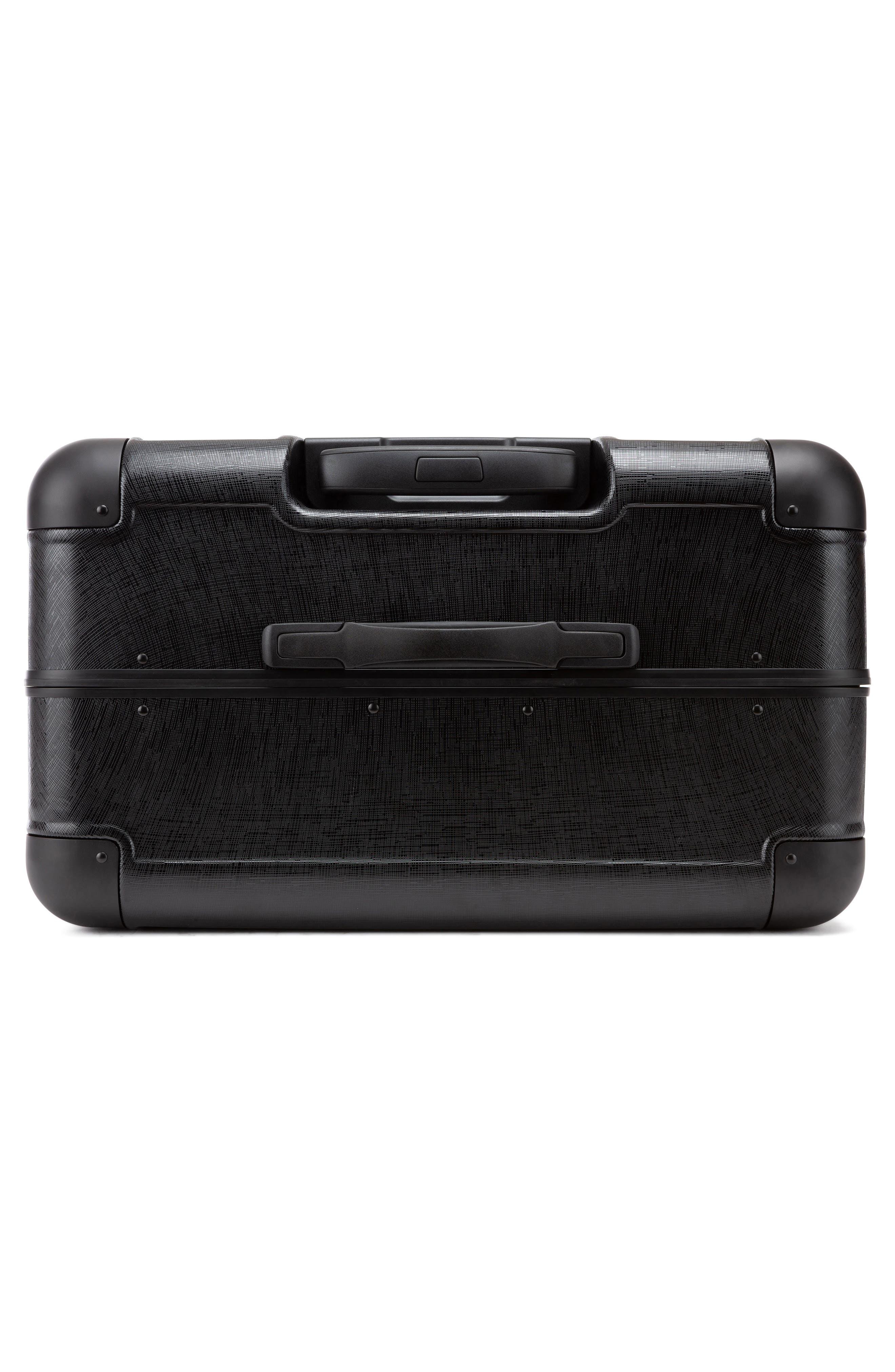 x Jen Atkin 29-Inch Suitcase,                             Alternate thumbnail 6, color,                             BLACK