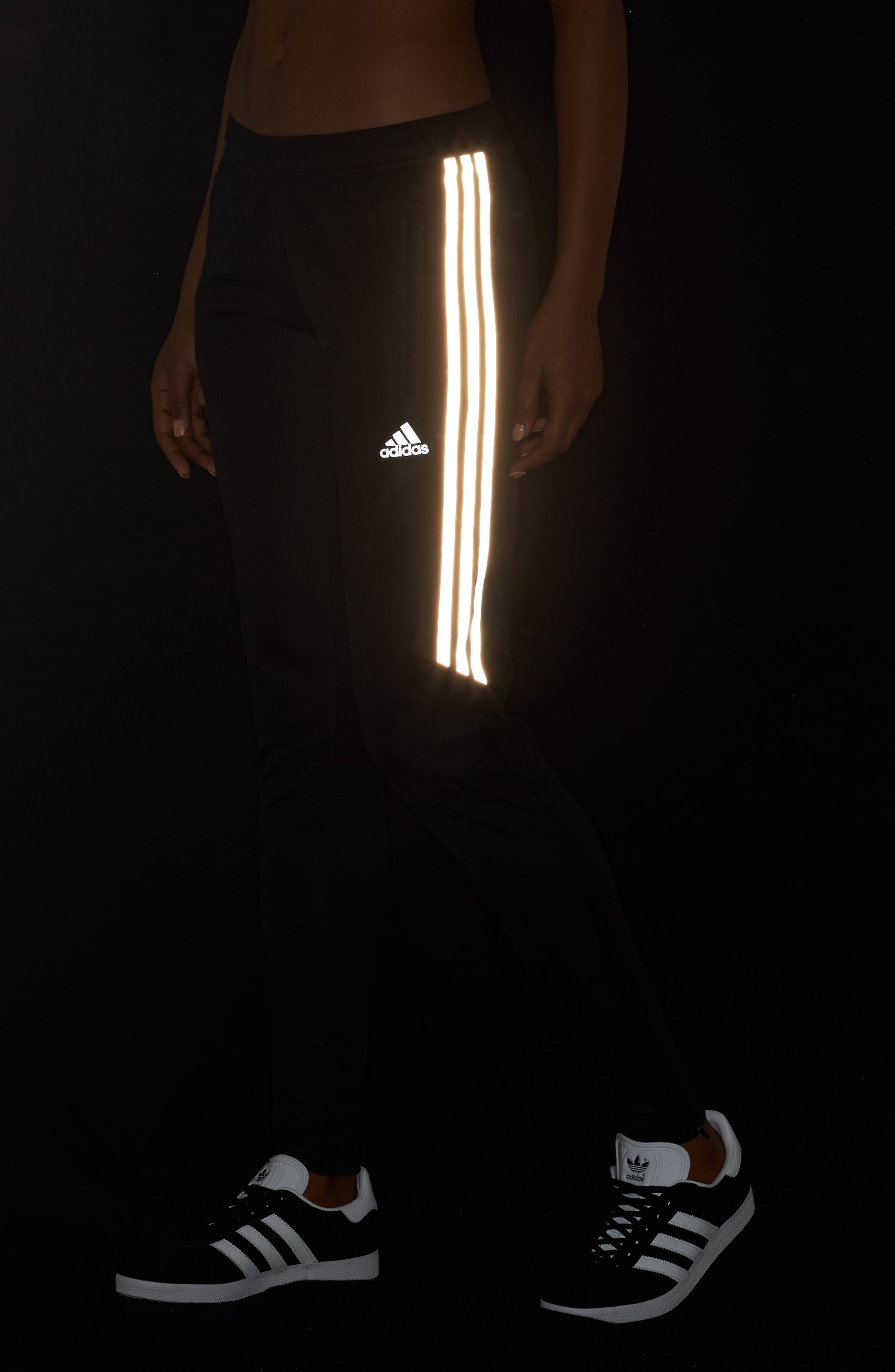 Tiro 17 Training Pants,                             Alternate thumbnail 4, color,                             BLACK/ REFLECTIVE SILVER