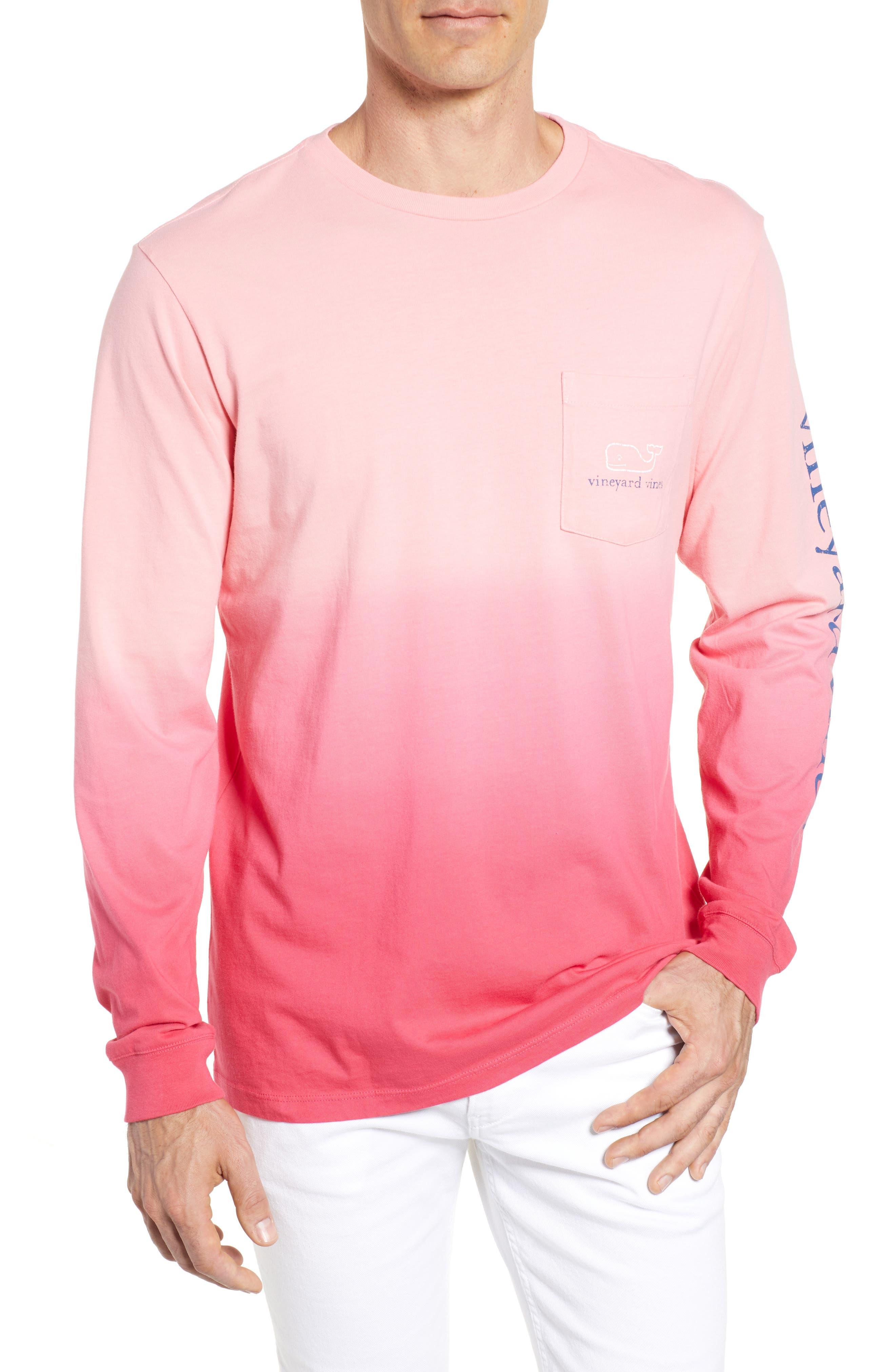 Dip Dye Two-Tone Whale Pocket T-Shirt,                             Main thumbnail 2, color,