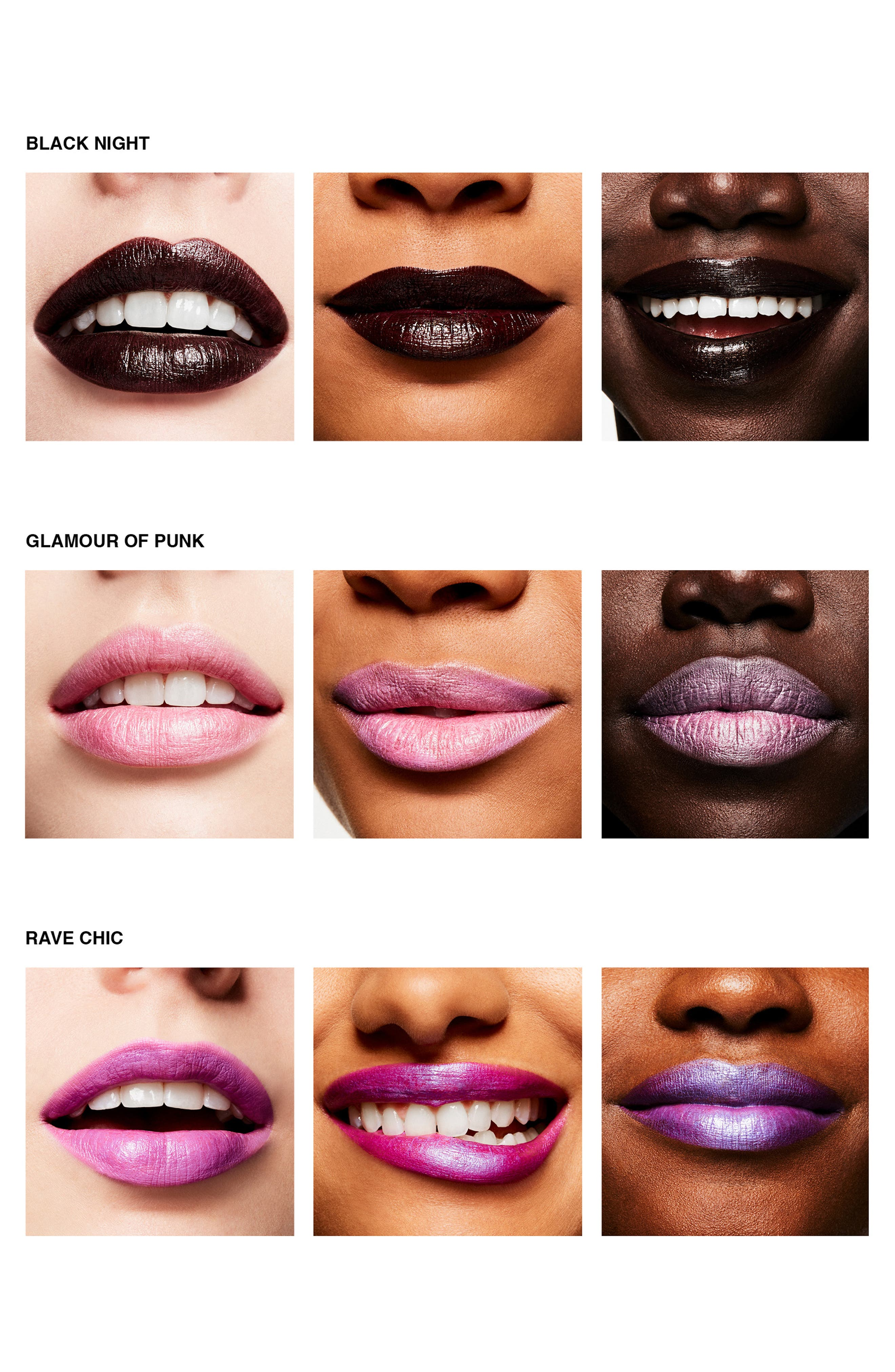 MAC COSMETICS,                             MAC Girls Lipstick,                             Alternate thumbnail 2, color,                             BLACK NIGHT
