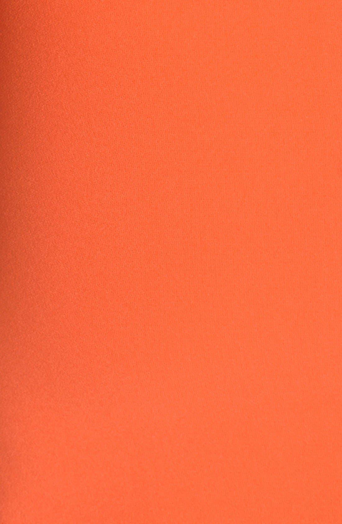 ALICE + OLIVIA,                             'Aleah' Off the Shoulder Sheath Dress,                             Alternate thumbnail 4, color,                             810